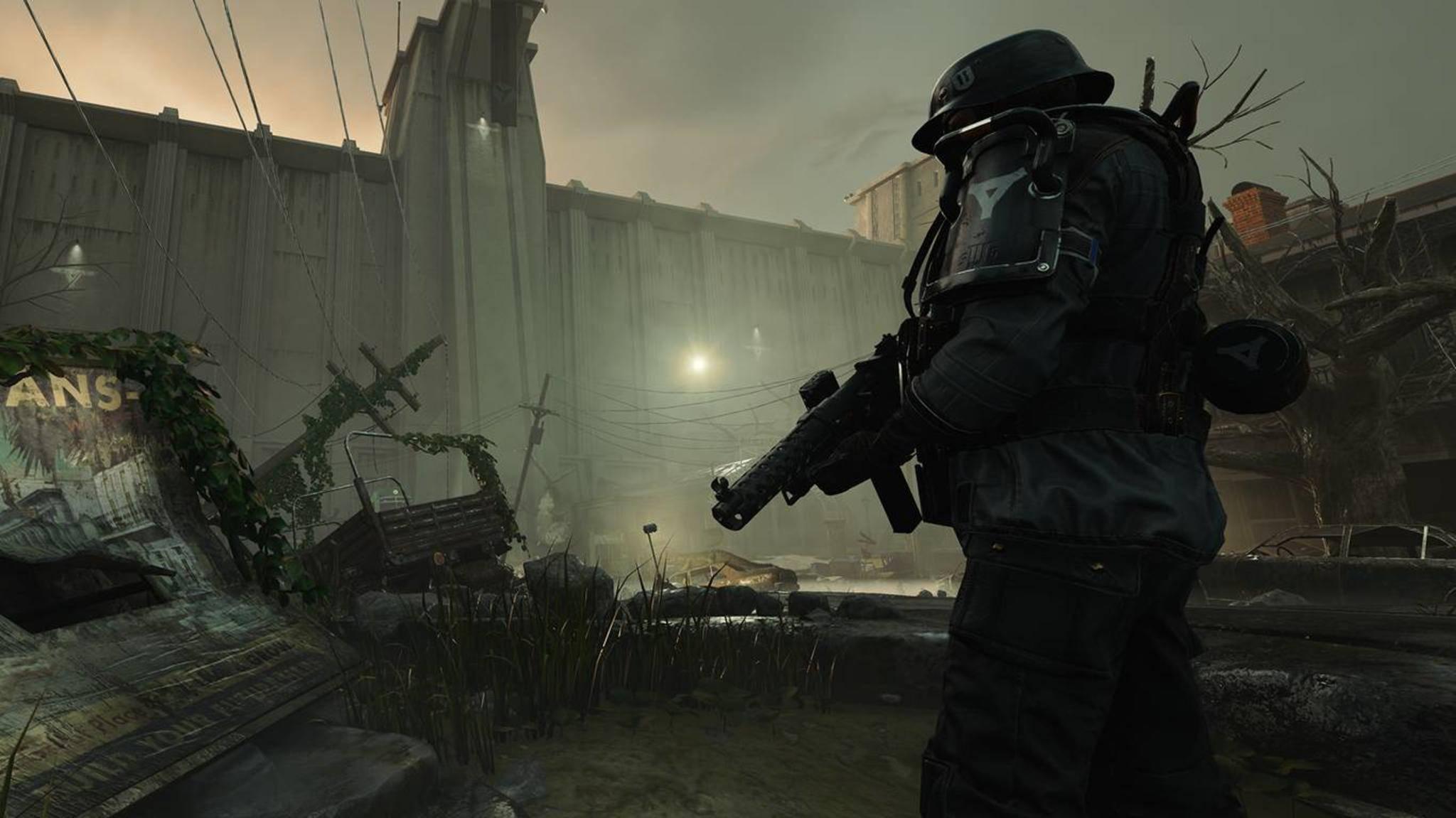 """In """"Wolfenstein 2"""" tritt man in den USA gegen die Nazis an."""