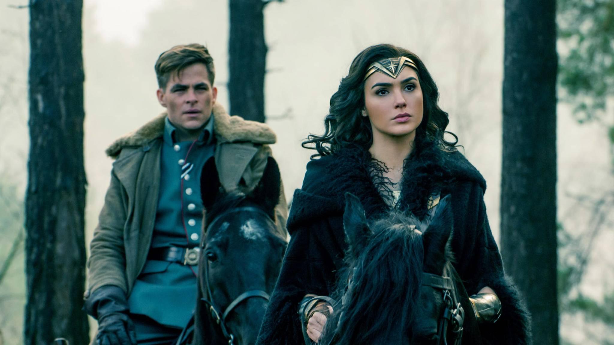 """Wiedersehen macht Freude. Das gilt offenbar auch für """"Wonder Woman 2""""."""