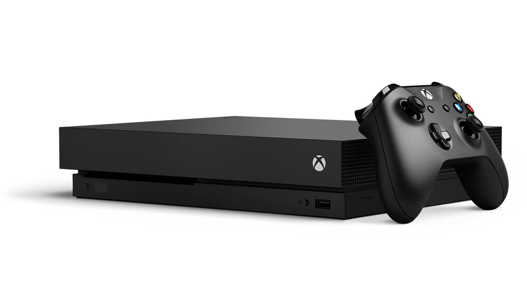 Ordentlich was unter der Haube: die Xbox One X.