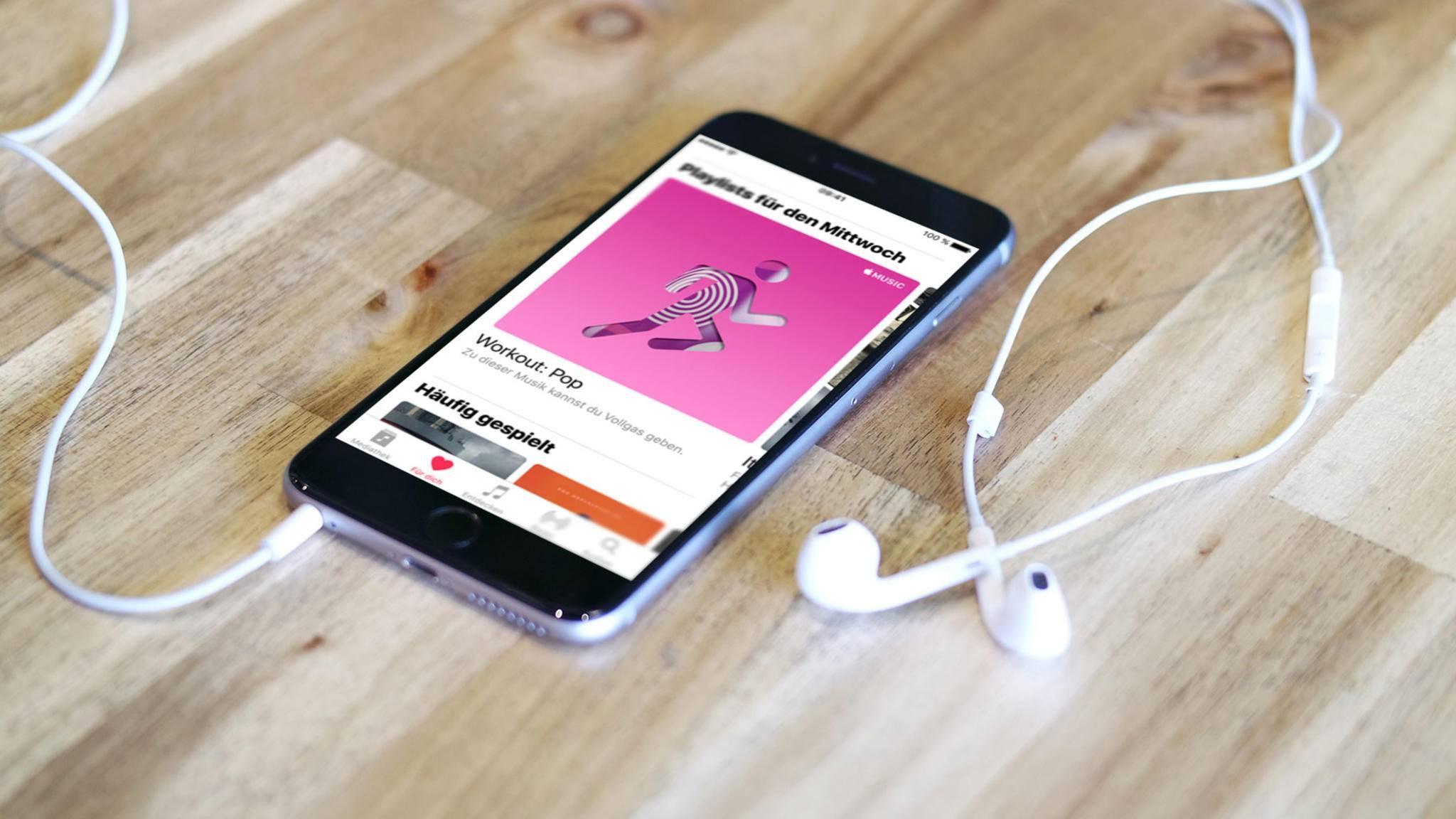 Nicht nur per App: Es gibt einen neuen inoffiziellen Web-Player für Apple Music.