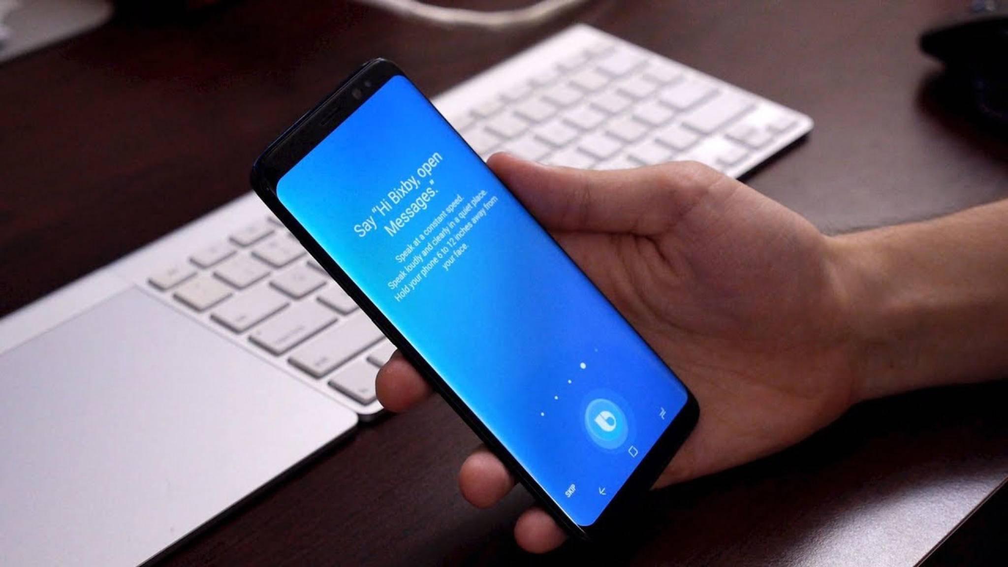 Die Sprachsteuerungs-KI Bixby dürfte kurz vor ihrem Launch stehen.