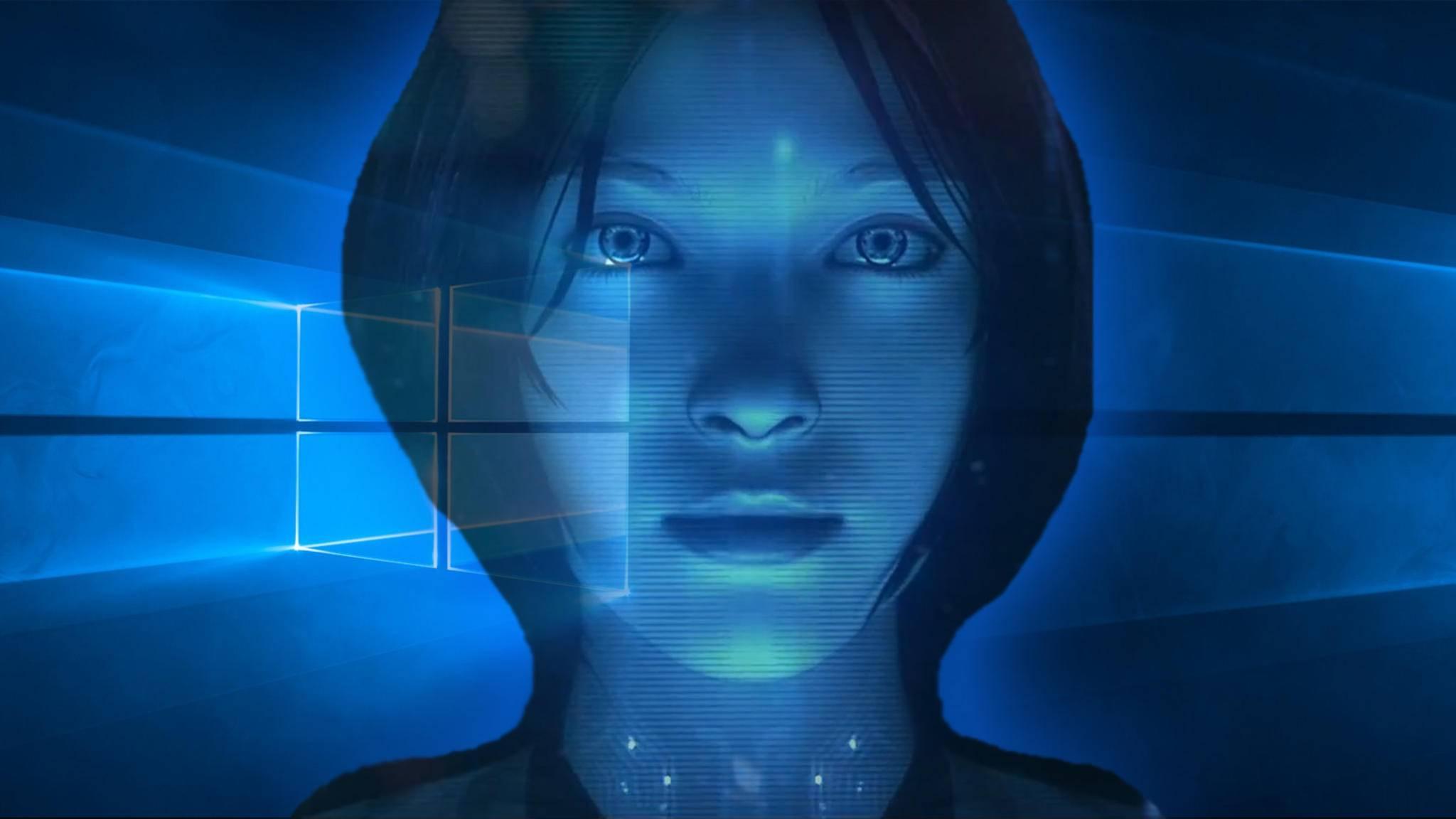 Funktioniert auch auf dem Sperrbildschirm: Die Windows-10-Assistentin Cortana.