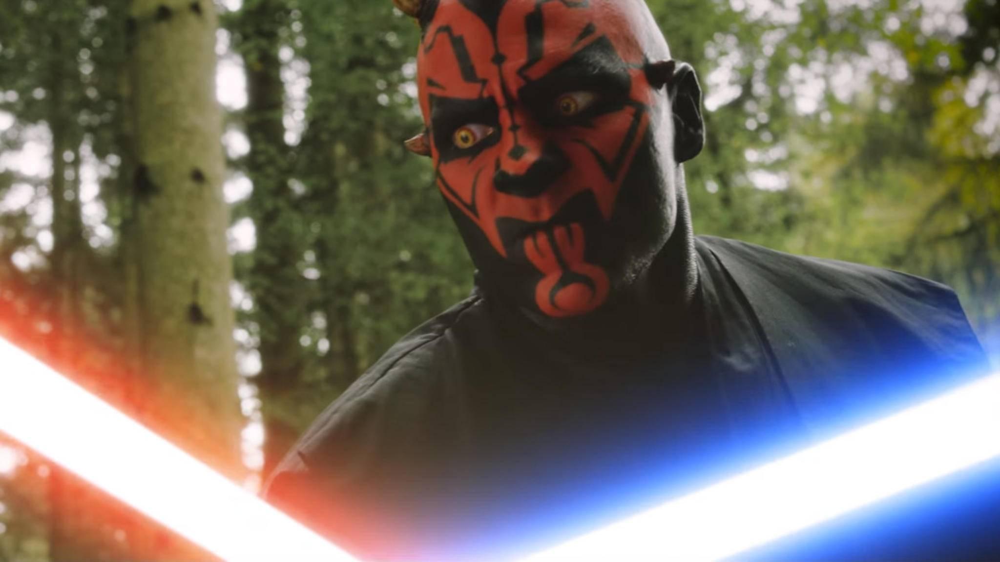 """Fans haben """"Star Wars""""-Bösewicht Darth Maul einen eigenen Film gedreht – und einen sehr gelungenen noch dazu!"""