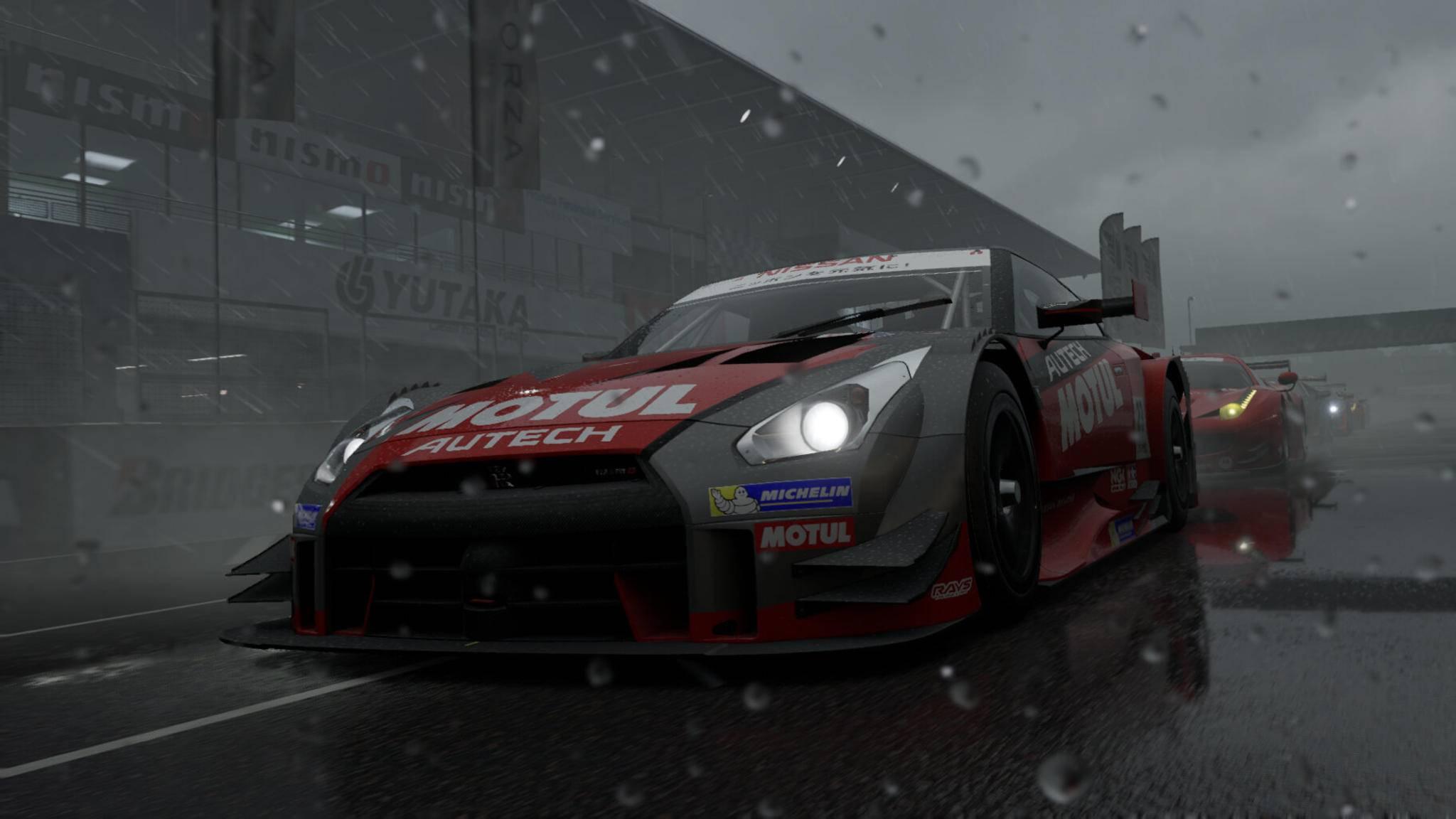 """Im neuen """"Forza Motorsport"""" spielen Faktoren wie Reifendruck und Streckentemperatur eine wichtige Rolle."""