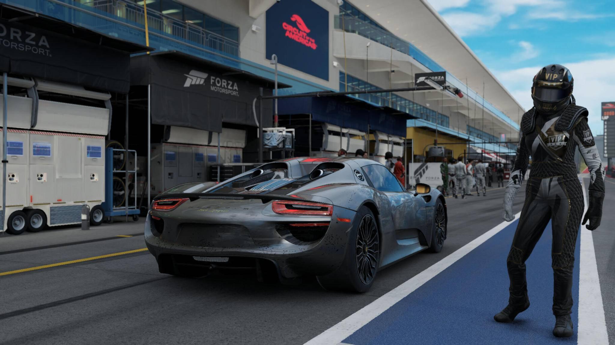 """""""Forza Motorsport 7"""": Kommen auch Rennspiel-Einsteiger mit dem Porsche Spider zurecht? ("""