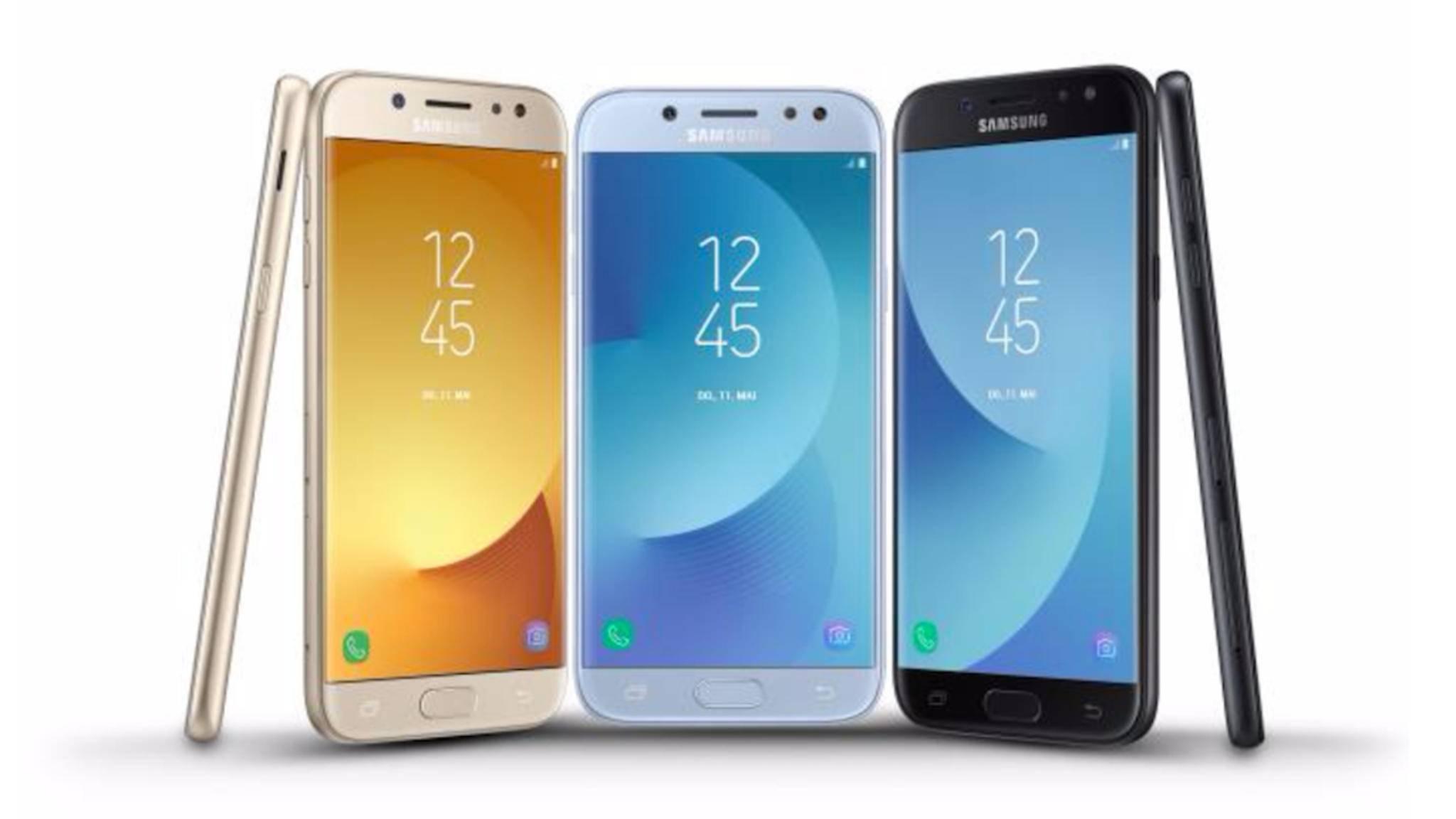 Die Galaxy-J-Serie umfasst die Einsteiger-Smartphones von Samsung.