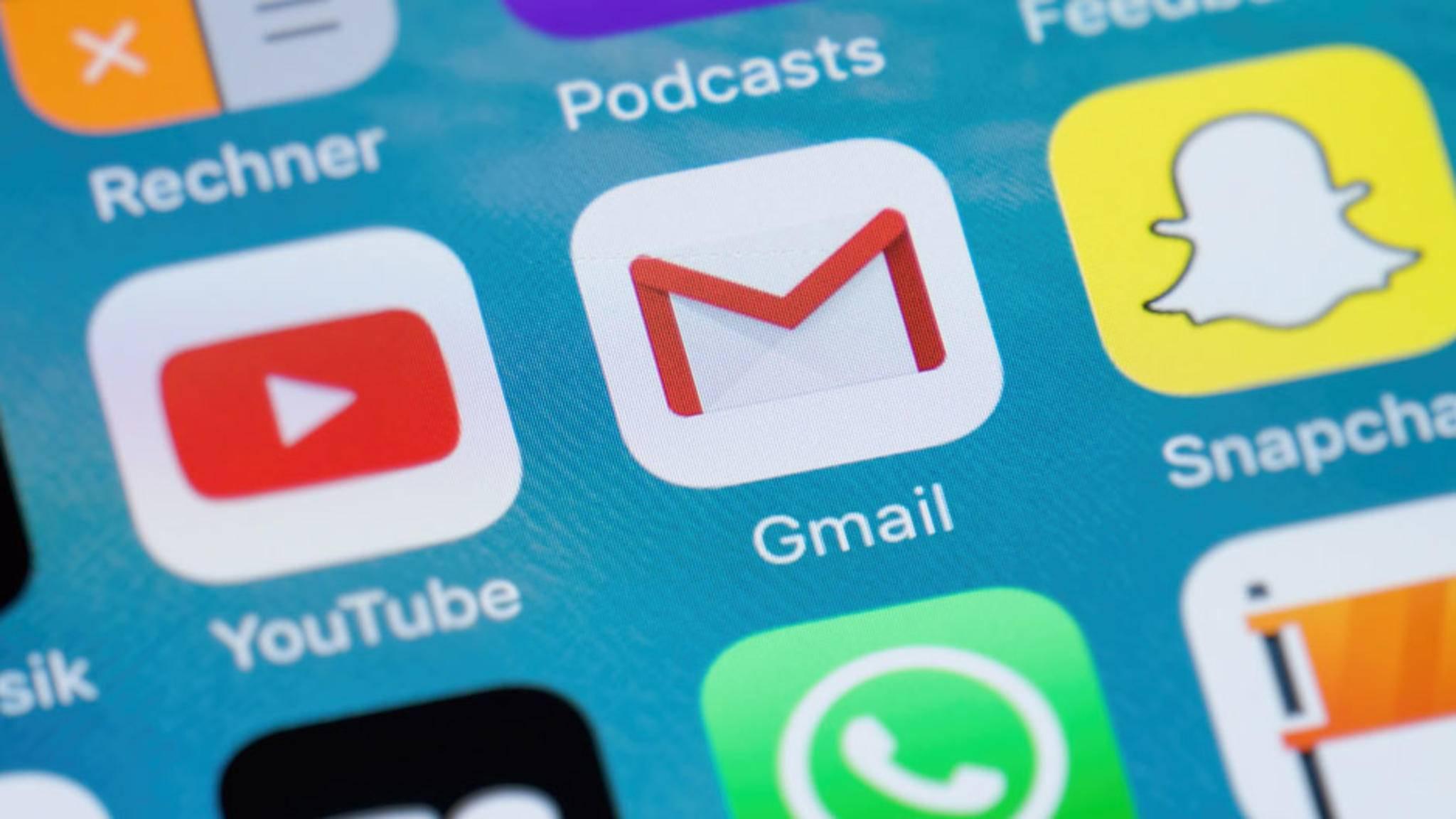 Auch Mails lassen sich über den Sprachdienst verfassen.