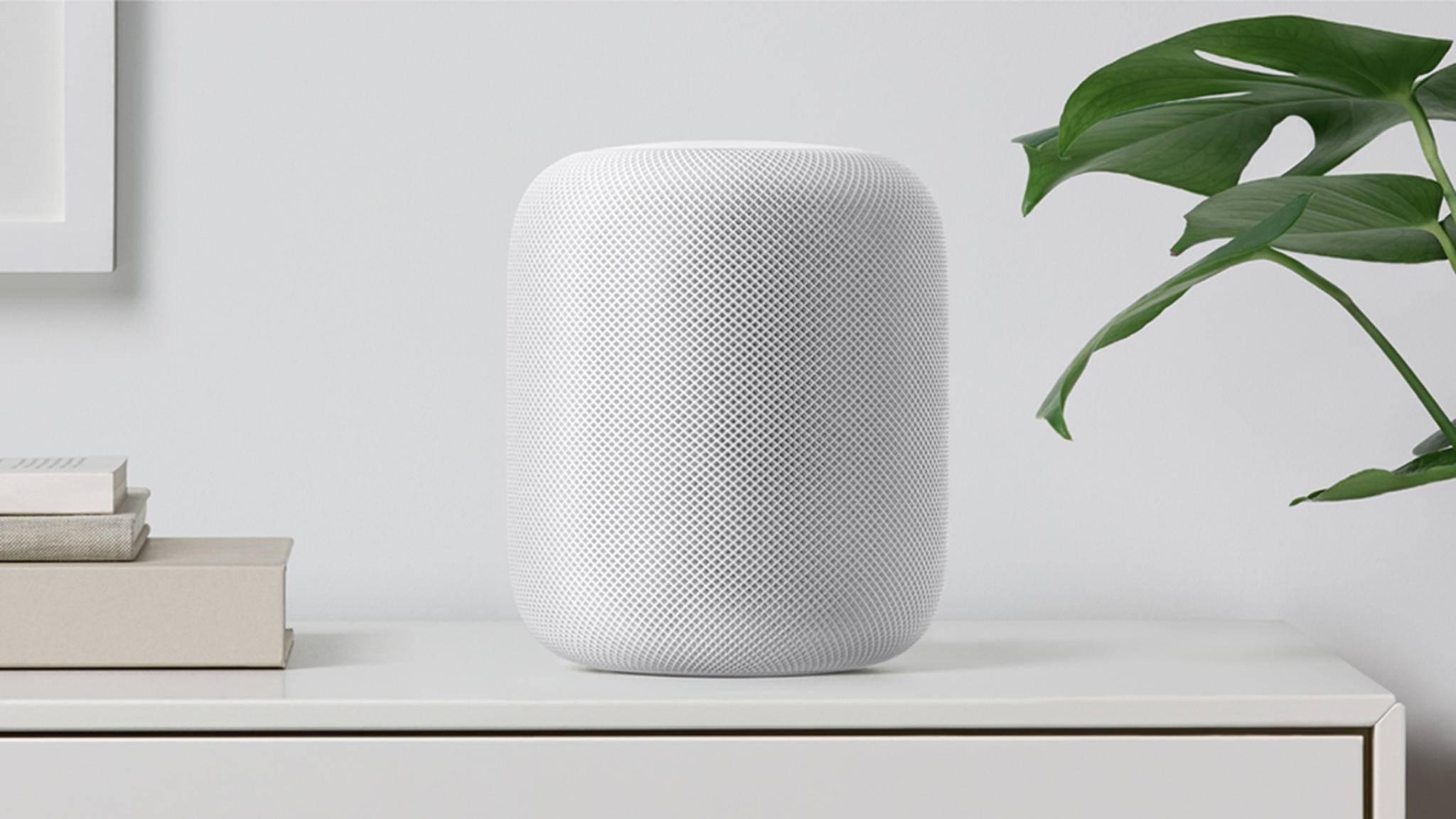 Der Apple HomePod soll im Frühjahr auch in Deutschland erscheinen.