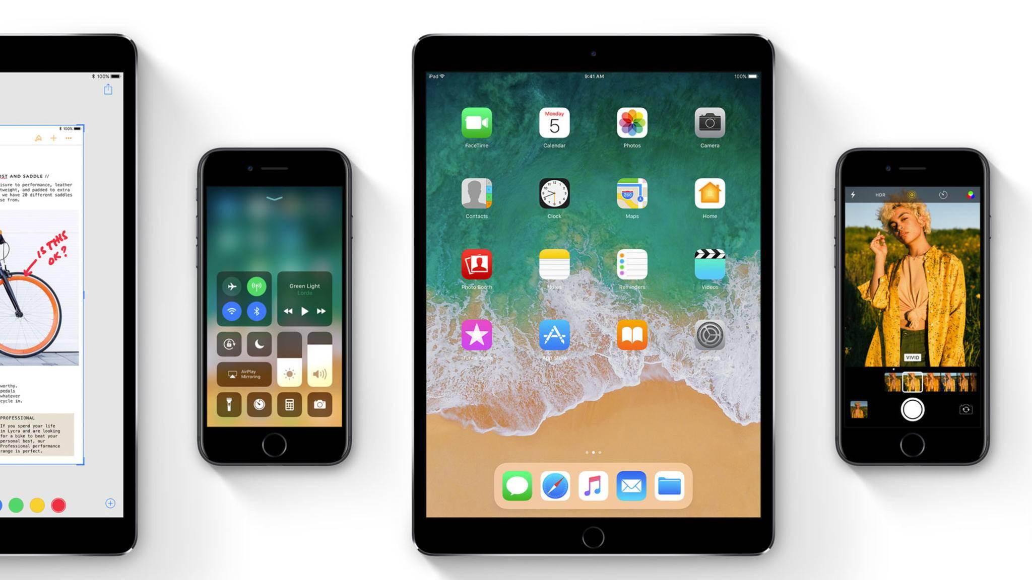 iOS 11 wurde vorgestellt und wird im Herbst erscheinen.