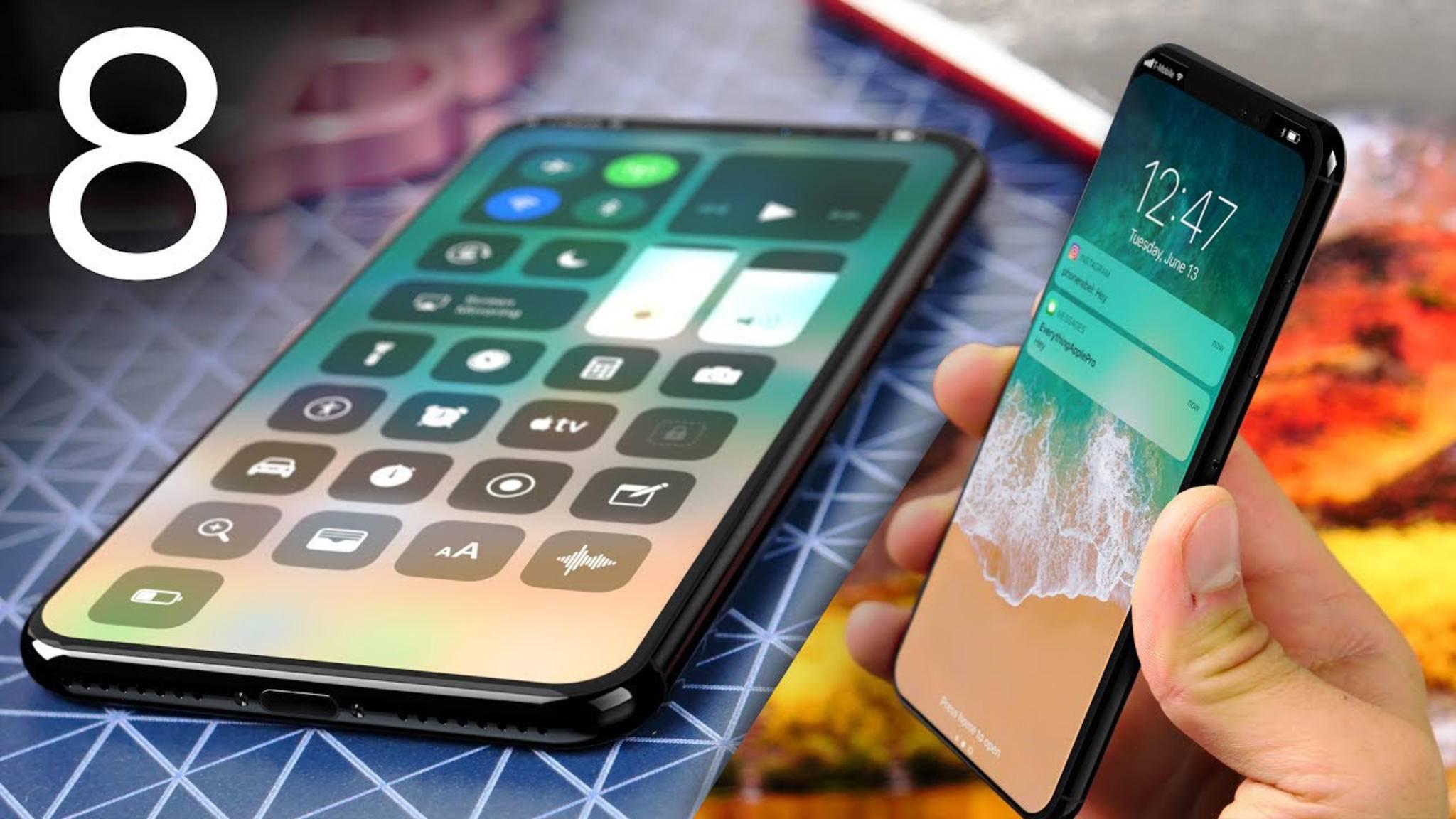 Das iPhone 8 könnte eines der teuersten Smartphones aller Zeiten werden.