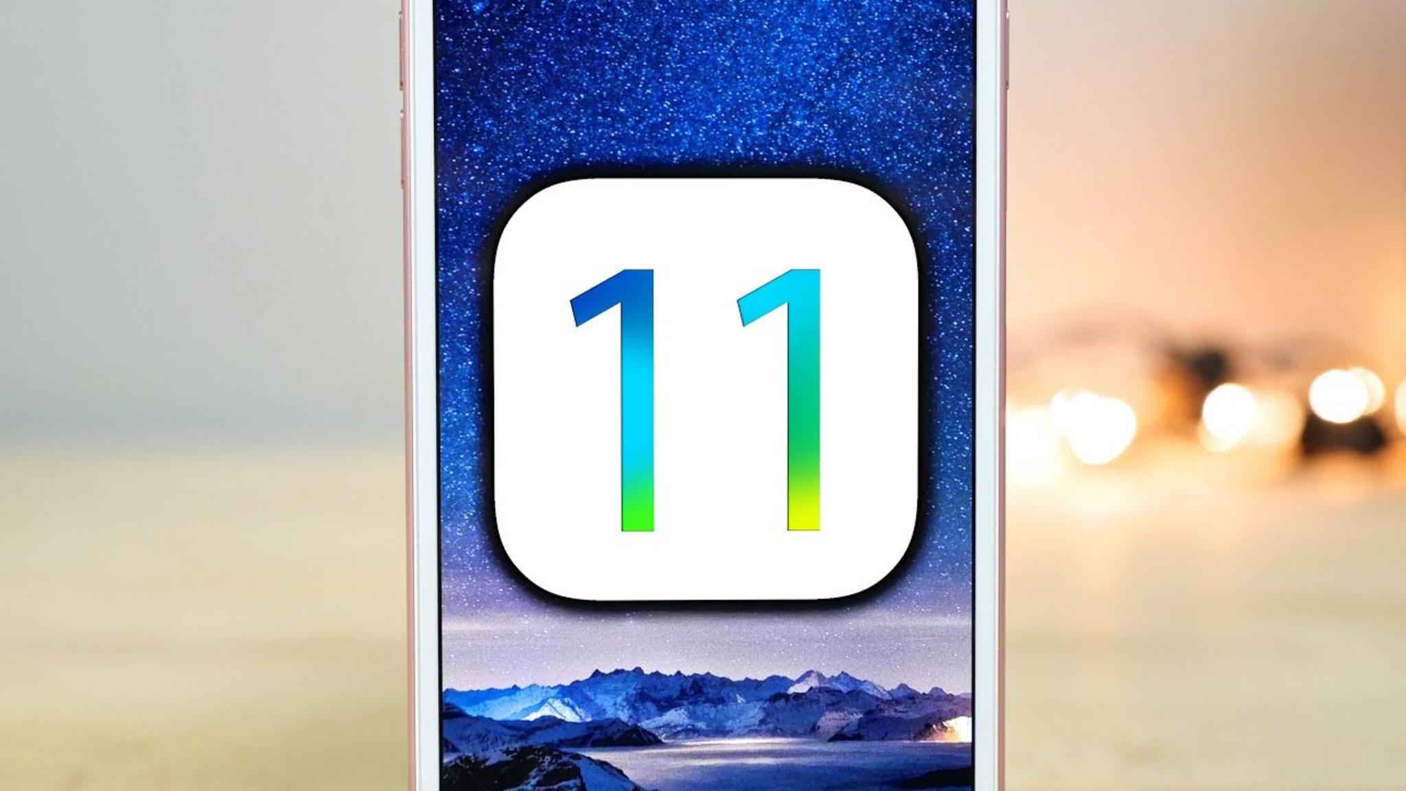 iOS 11 hat ein Sicherheitsproblem.