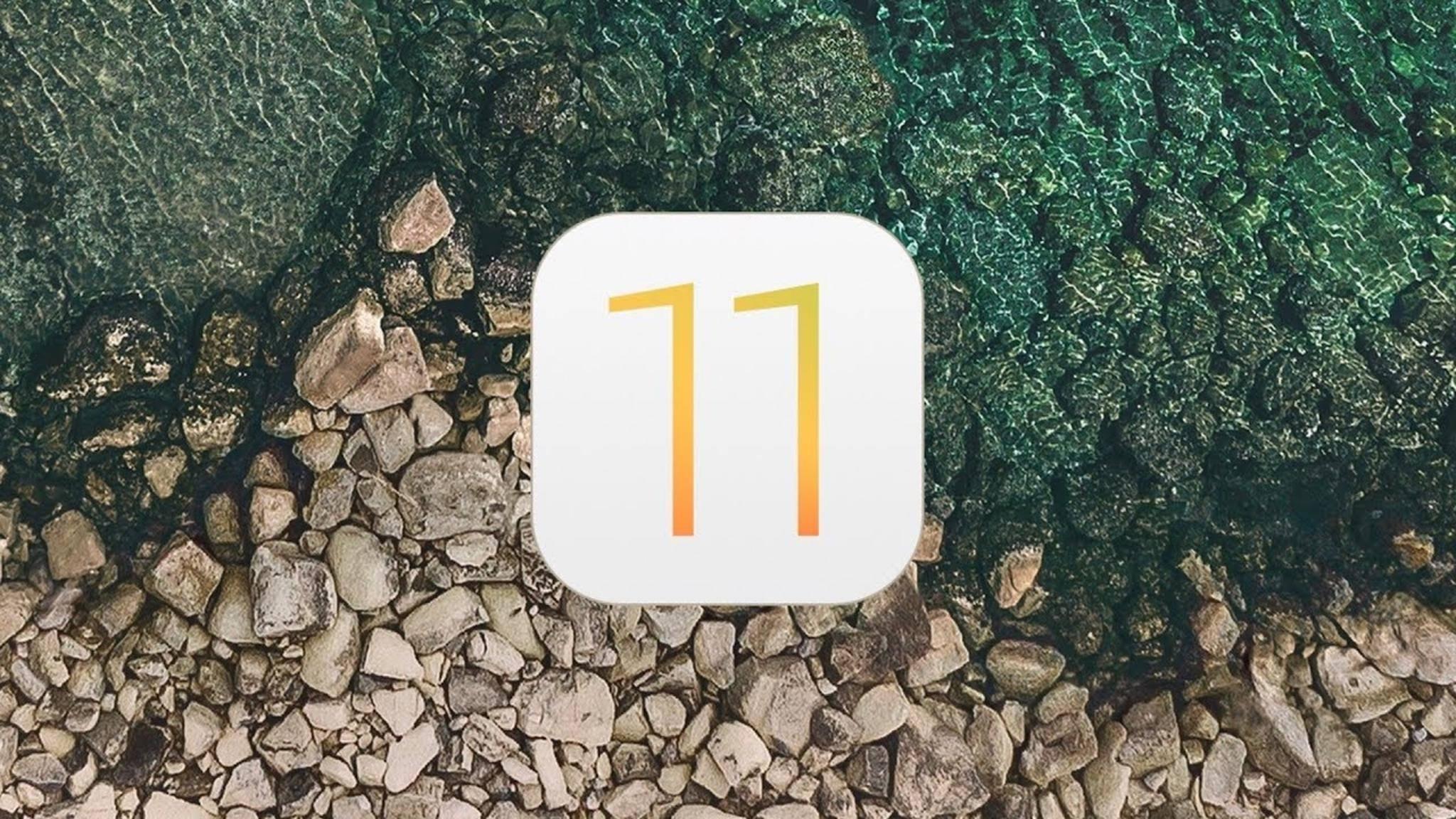 Die erste Beta von iOS 11 könnte schon nächste Woche kommen.