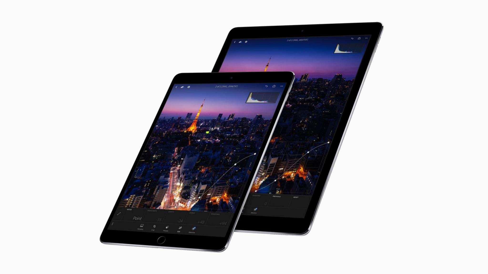 Selbst das größere iPad Pro 12.9 (2017) ist mobiler als das Surface Pro (2017).