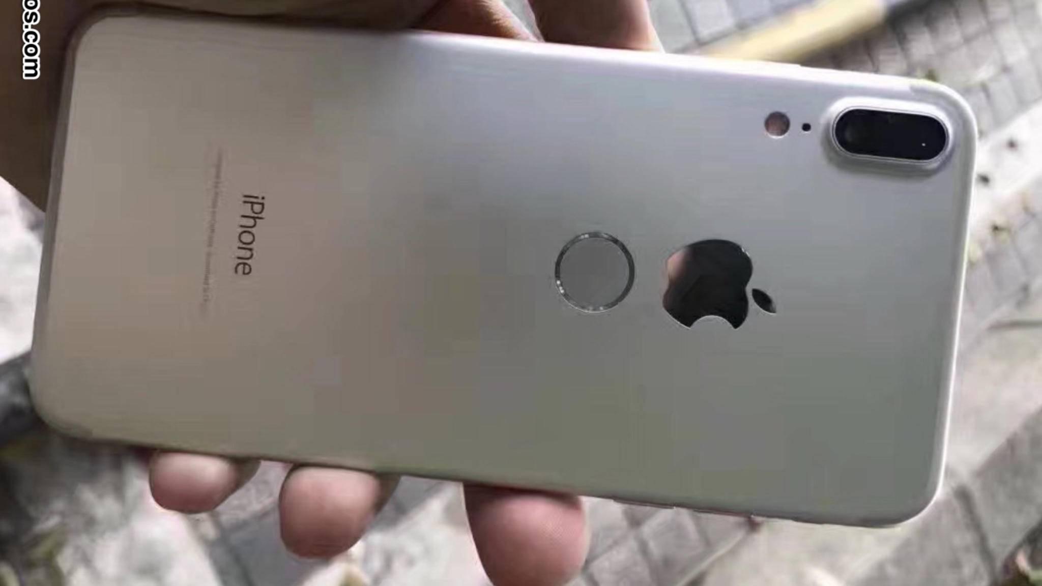 Dieser iPhone-8-Dummy sorgt derzeit für Aufregung im Netz.