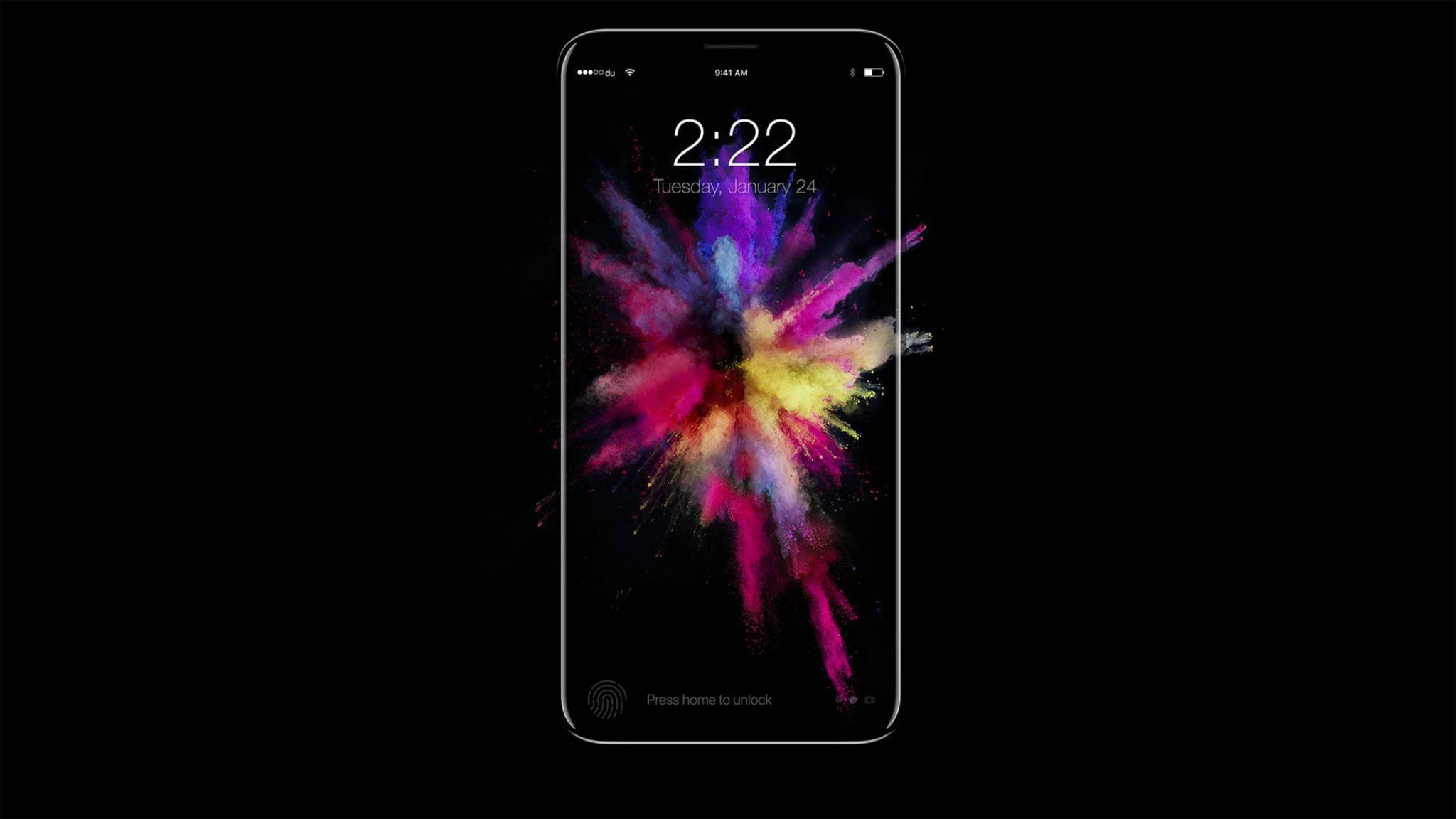 Der OLED-Bildschirm fürs iPhone 8 dürfte den Köpfen in Cupertino aktuell eher Kopfschmerzen bereiten.