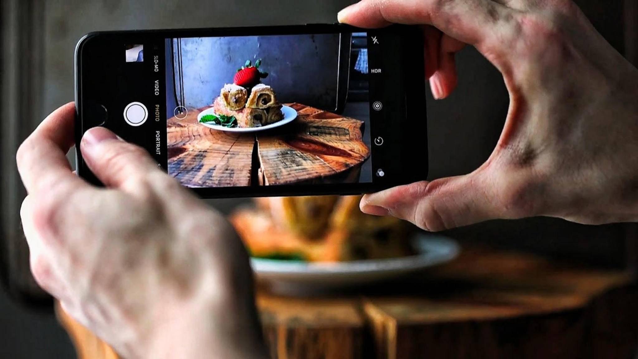 Am sichersten fährst Du, wenn Du Fotos nur mit der Standard-App von Apple knipst.