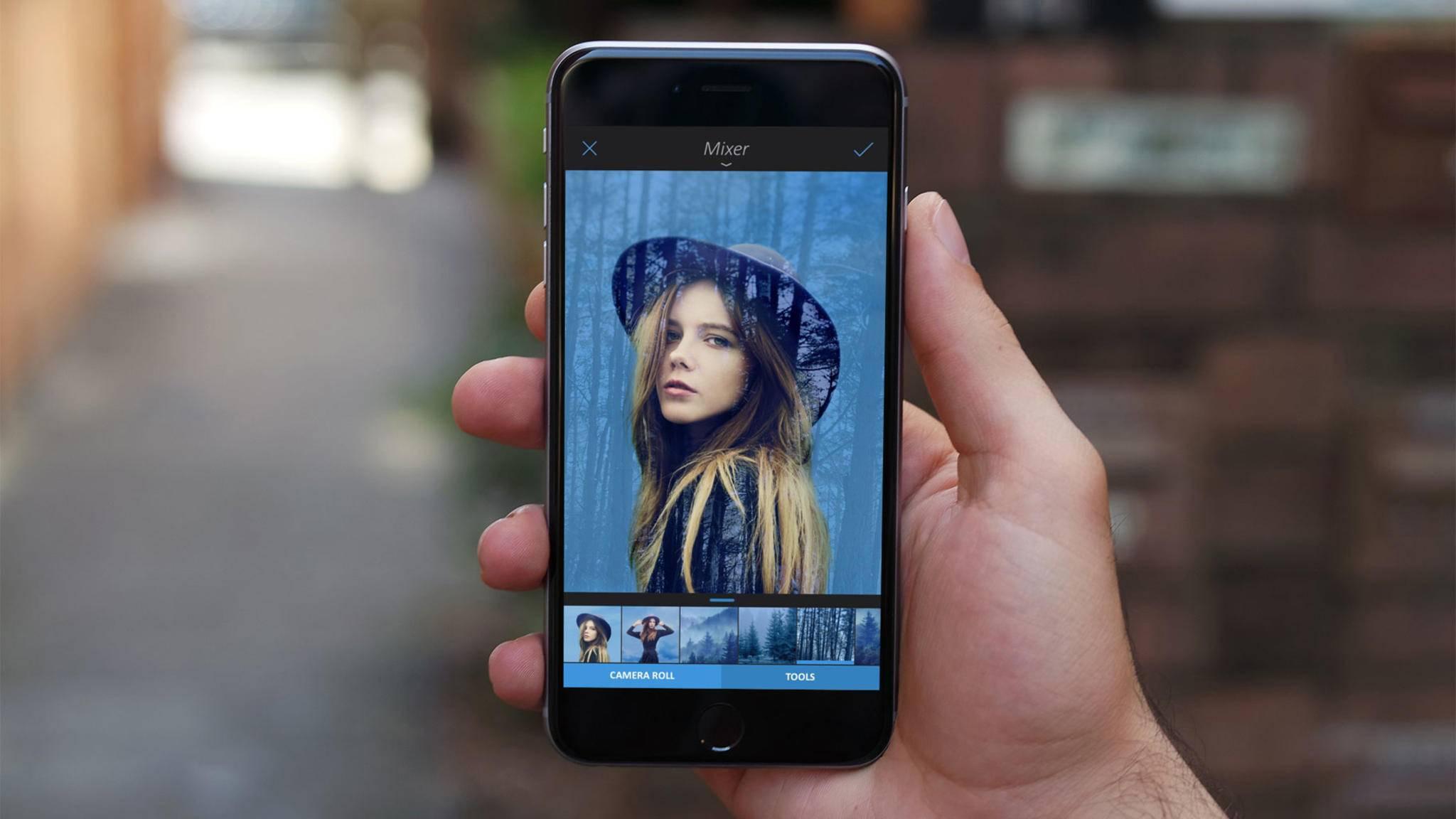 Drittanbieter-Apps wie Enlight bieten umfangreiche Optionen für die Bildbearbeitung auf dem iPhone.