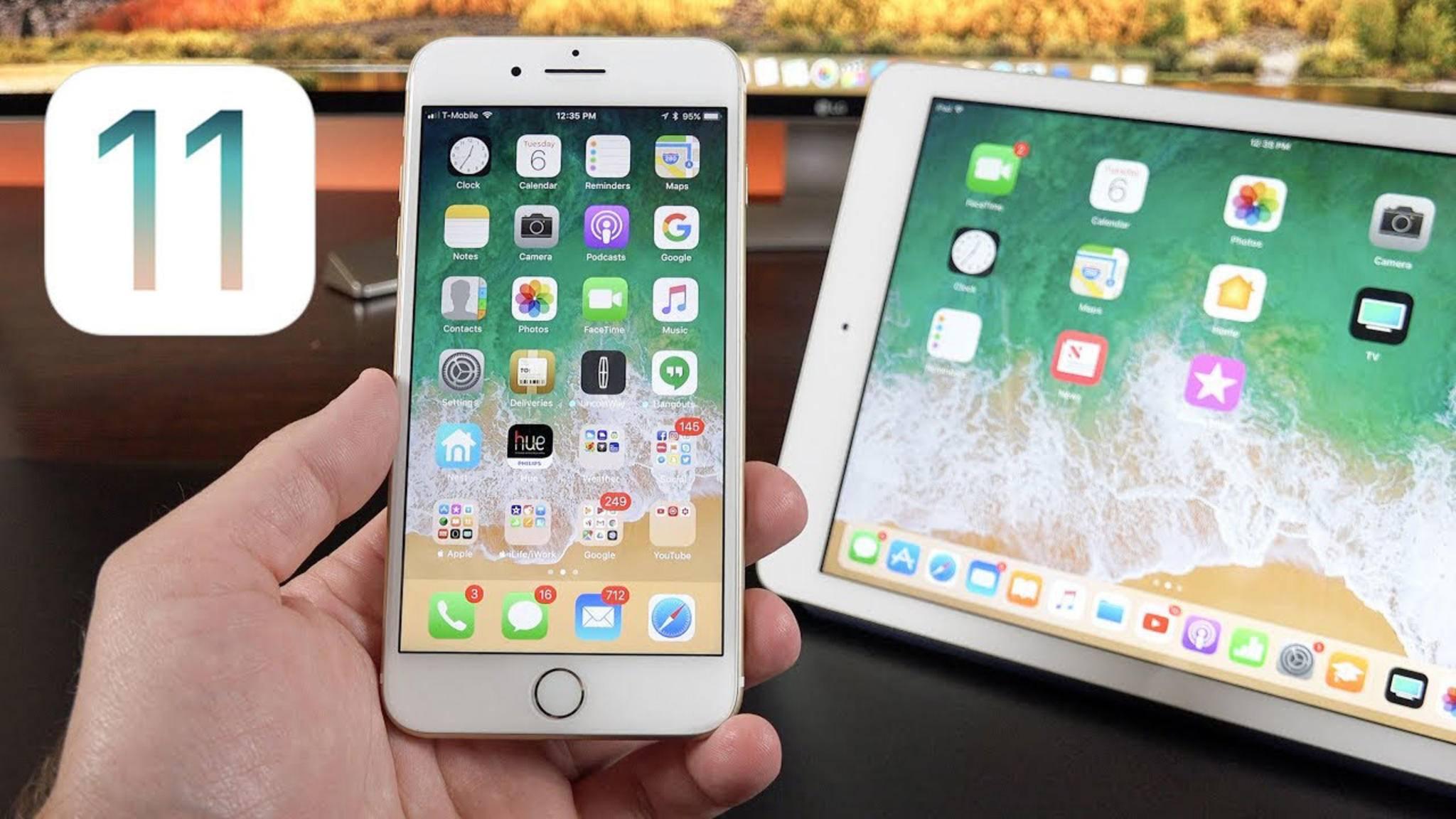 IOS 11: Apple gibt erste Public Beta frei