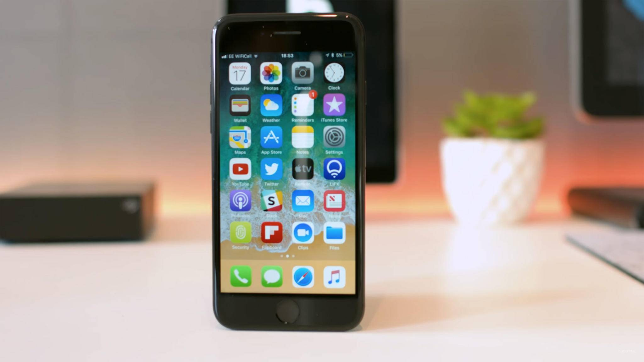 iOS 11 hatte Apple Pay Cash noch nicht an Bord.