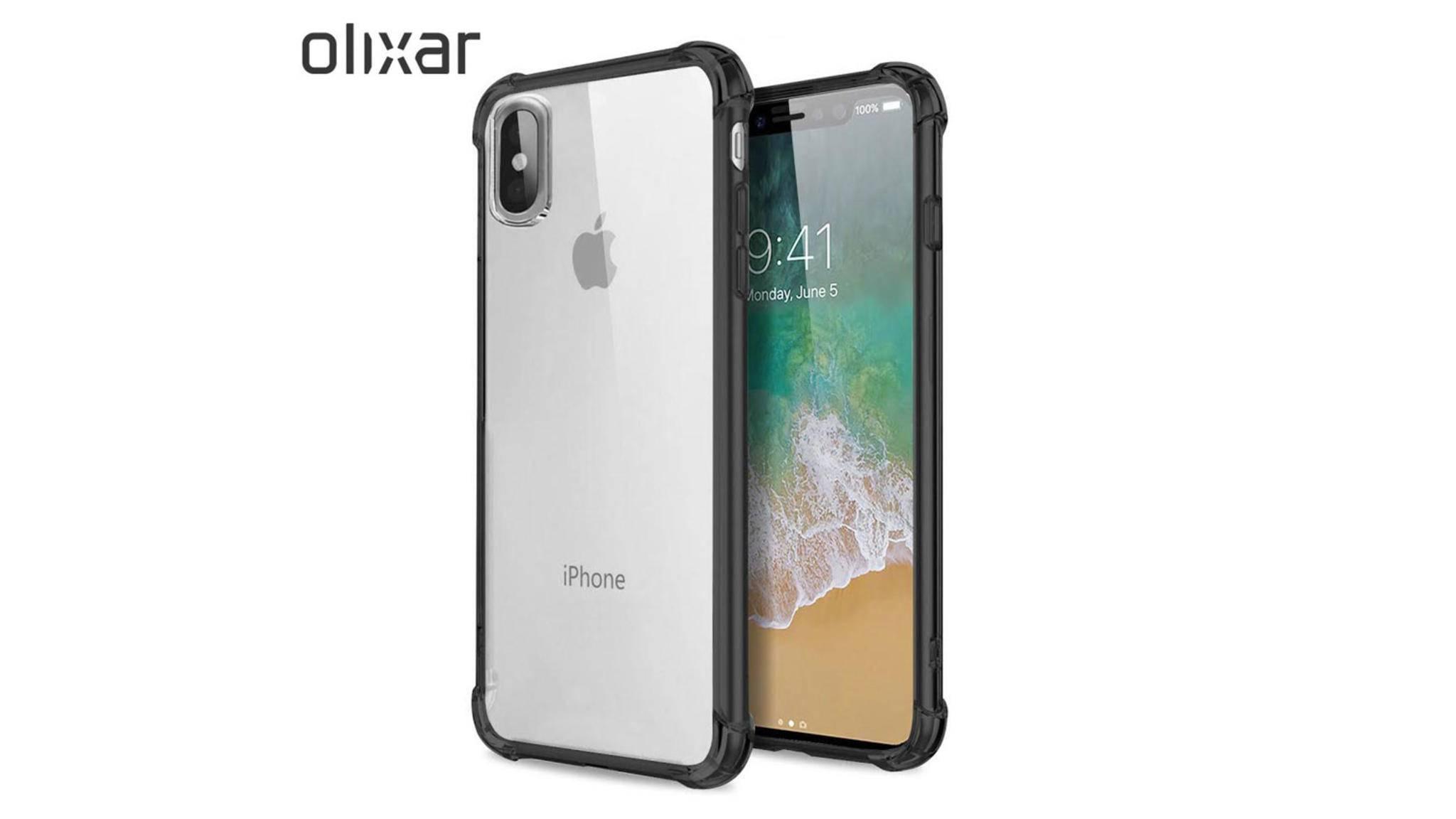 Case-Hersteller Olixar ist sich seiner Sache sicher und bietet iPhone-8-Schutzhüllen bereits zur Vorbestellung an.