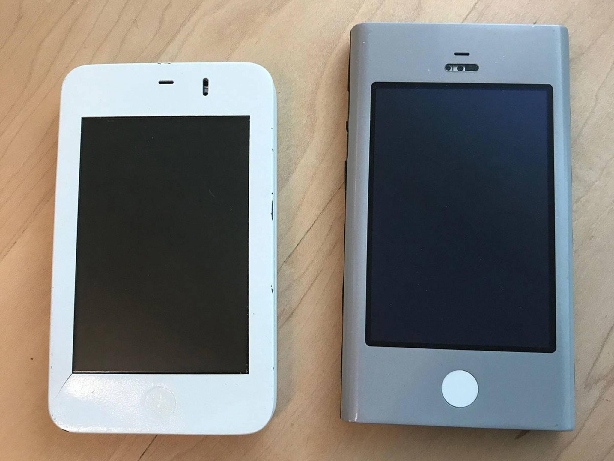 """Die klobigen iPhone-Prototypen wurden intern auch als """"Wallabies"""" bezeichnet."""