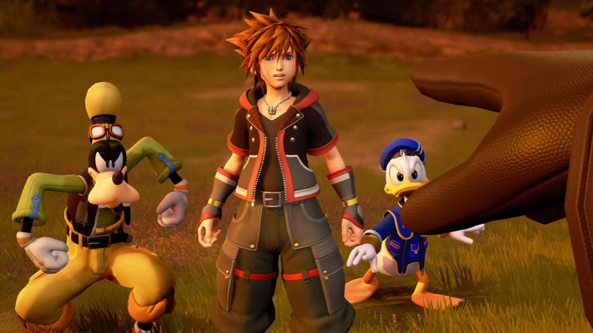Kämpfen Sora, Goofy, Donald und Co. nur auf PS4 und Xbox One Seite an Seite?