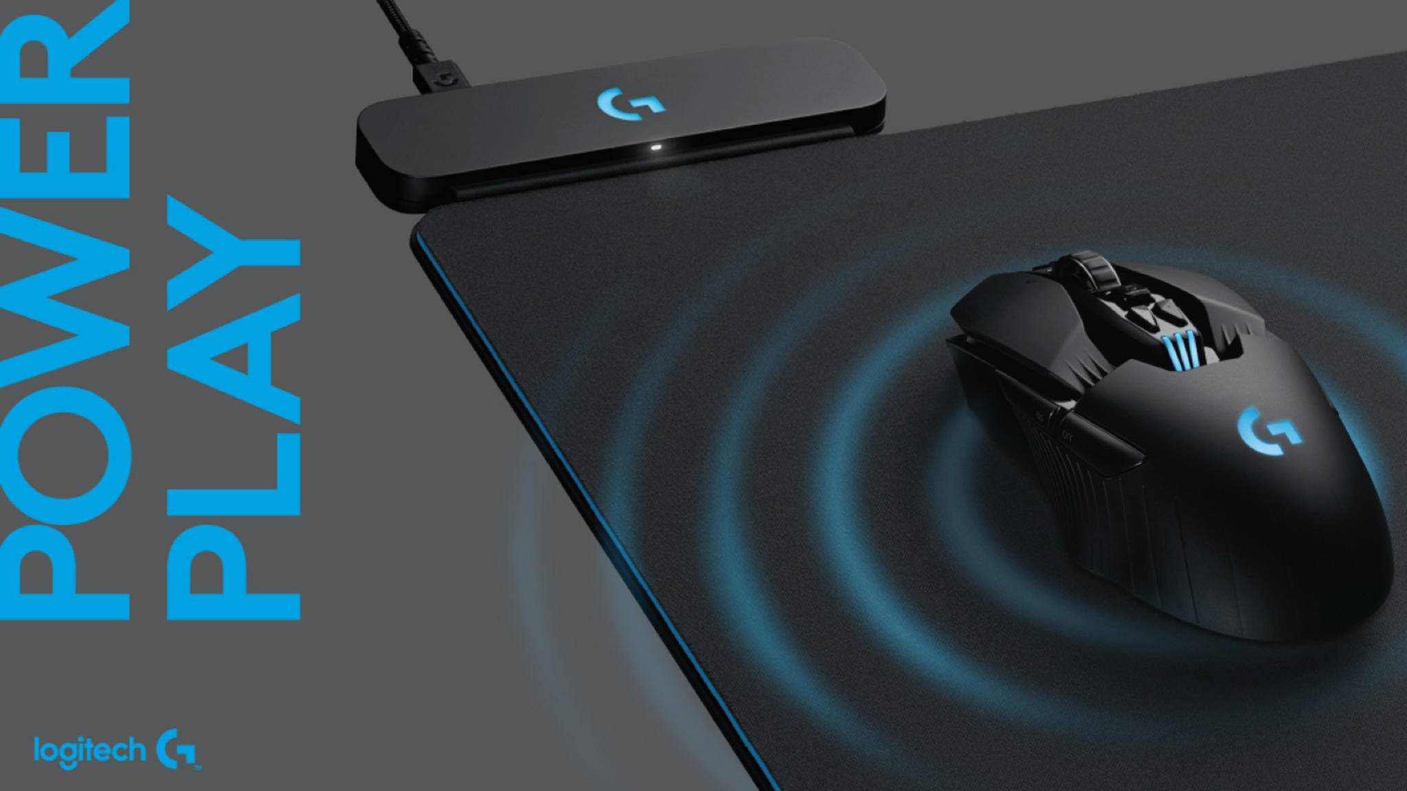 Logitech Powerplay G: Drahtloses Mousepad