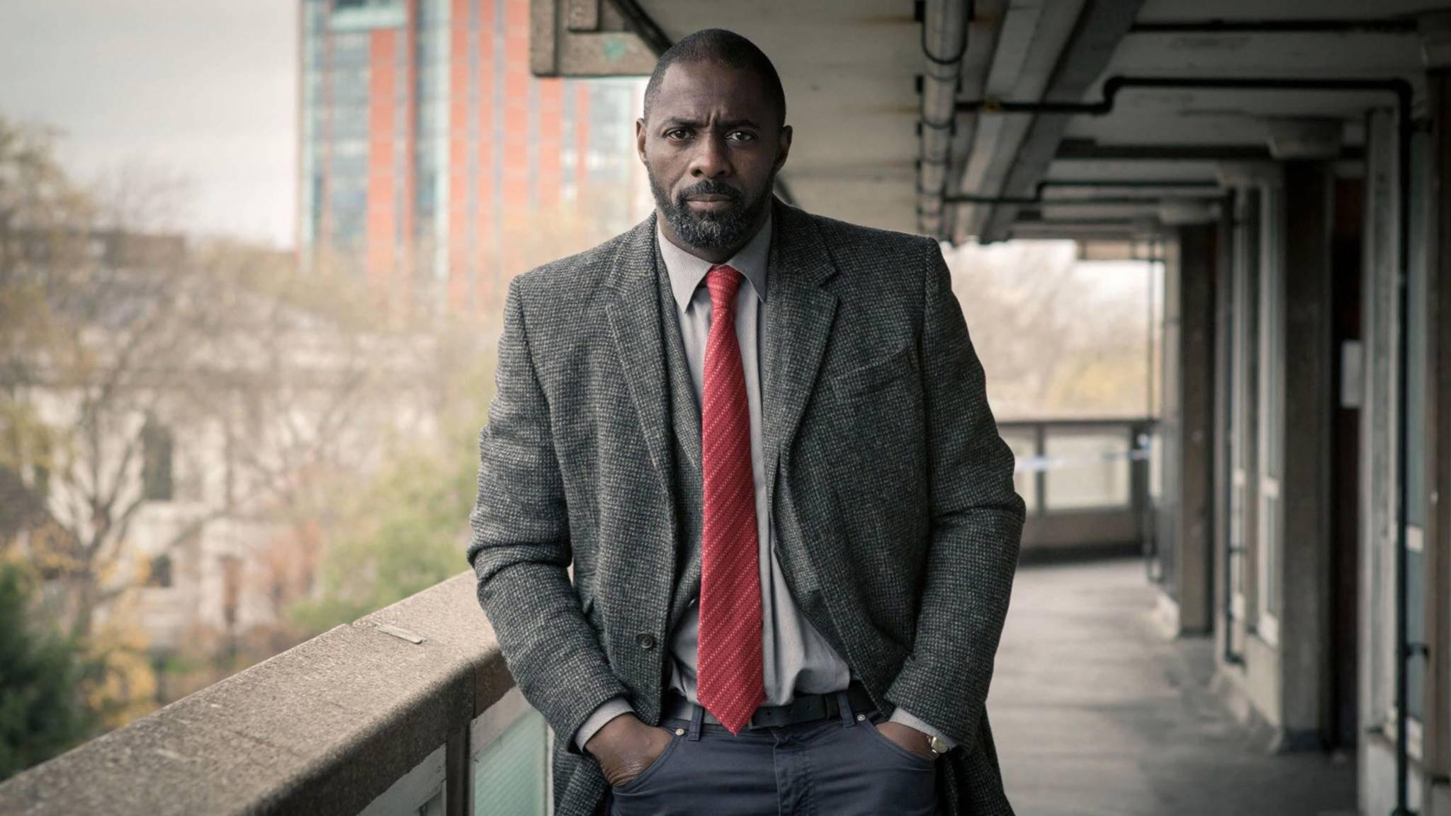 """Der Anzug sitzt schon: Idris Elba (hier in """"Luther"""") könnte doch noch James Bond spielen."""