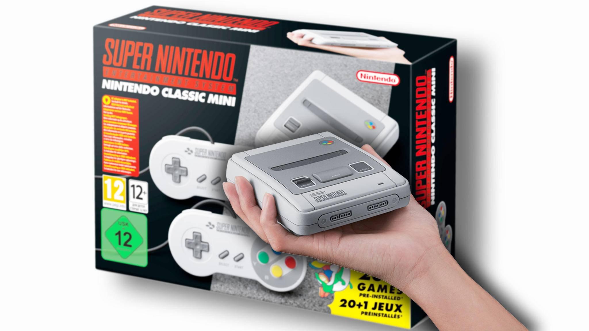 Das SNES Classic Mini kommt im September mit 21 vorinstallierten Spielen.