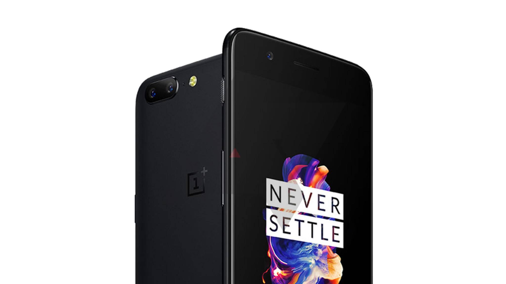 Auf dem Renderbild des OnePlus 5 sind die Ähnlichkeiten zum iPhone 7 Plus unverkennbar.