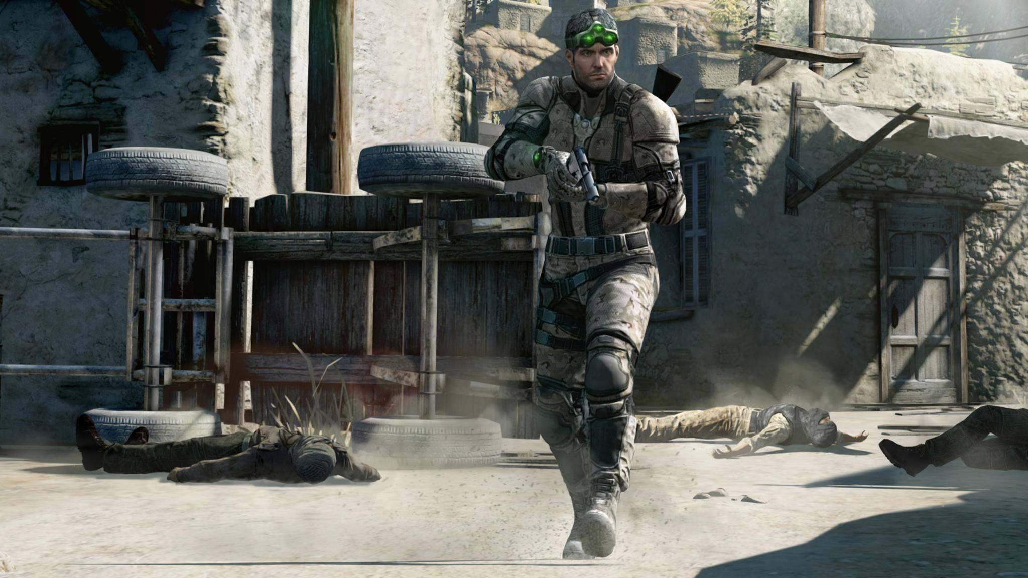 Splinter Cell mit dem Helden Sam Fisher