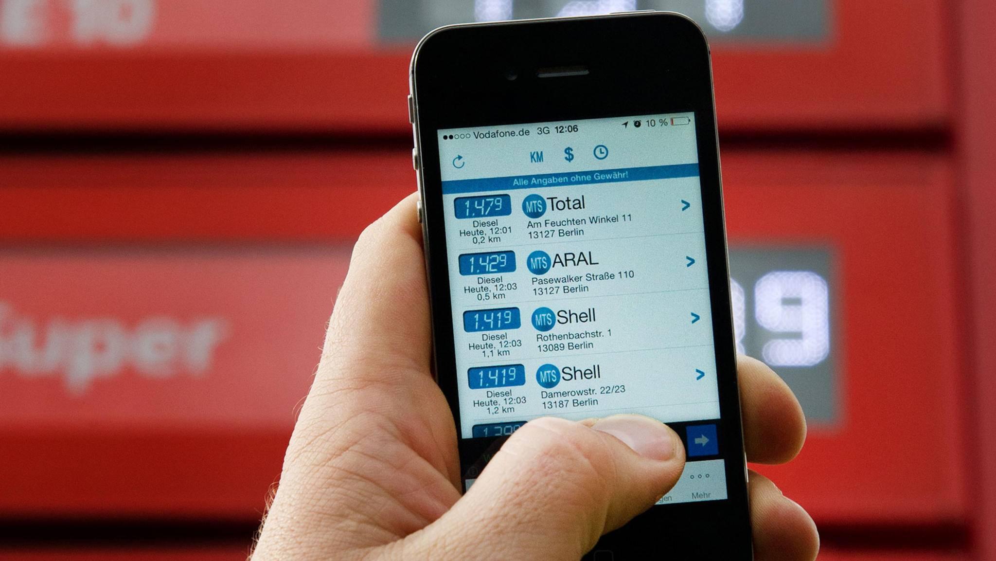 Stets auf der Suche nach dem günstigsten Benzinpreis? Dann helfen Dir diese 6 Apps weiter.