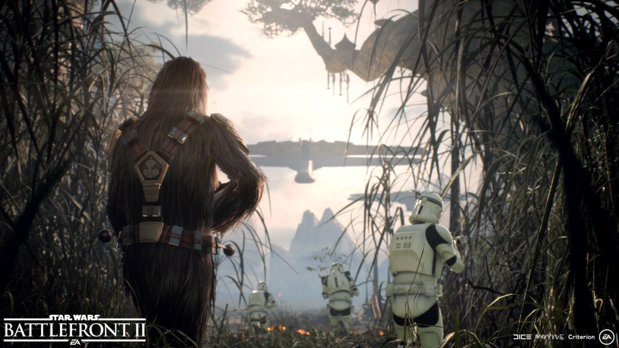 """Dass """"Star Wars: Battlefront 2"""" toll aussehen wird, gilt als gesichert. Doch das Game macht auch noch sonst einiges richtig – oder zumindest besser als sein Vorgänger."""