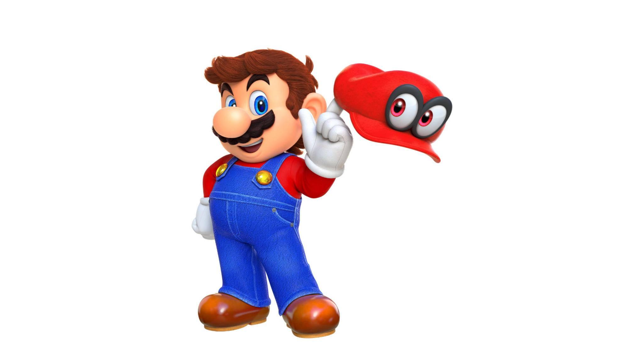 """Im Koop-Multiplayer von """"Super Mario Odyssey"""" spielt ein Spieler Mario – und der andere nicht Luigi!"""