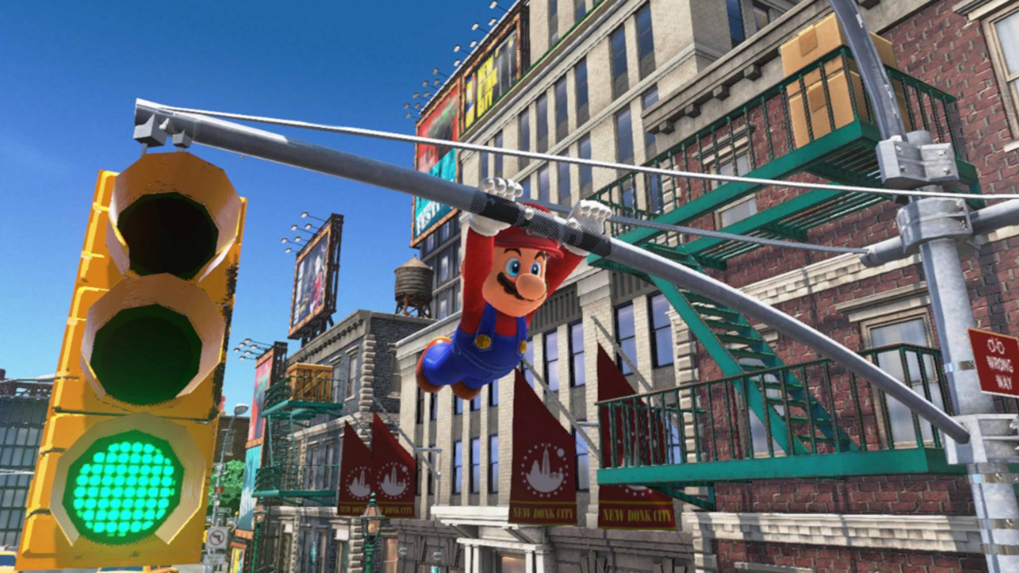 """""""Super Mario Odyssey"""" setzt zu neuen Höhenflügen an."""