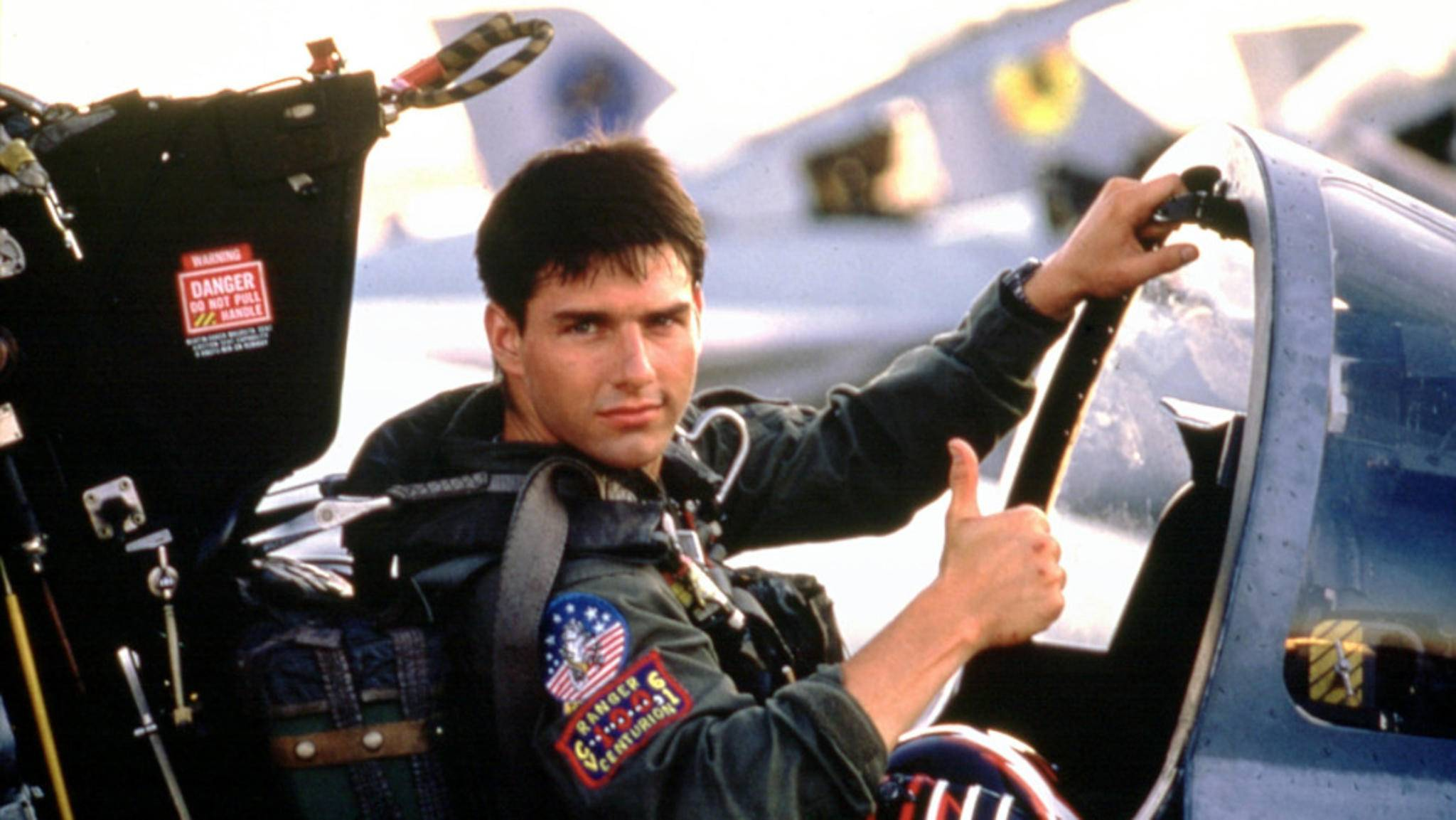 """Tom Cruise hebt im """"Top Gun""""-Sequel als Pete """"Maverick"""" Mitchell wieder ab."""