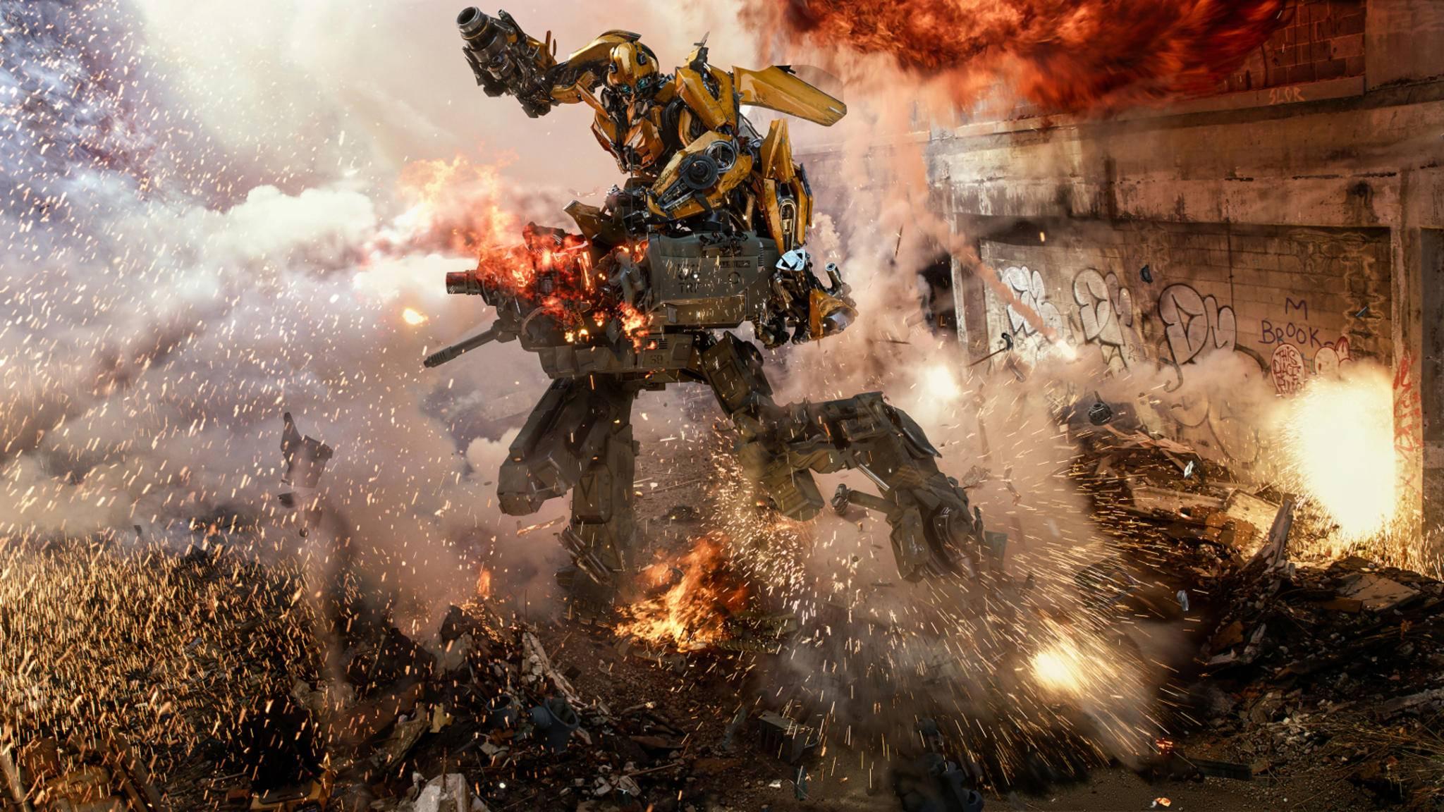Wo die Transformers kämpfen, entstehen Kollateralschäden in Milliardenhöhe.