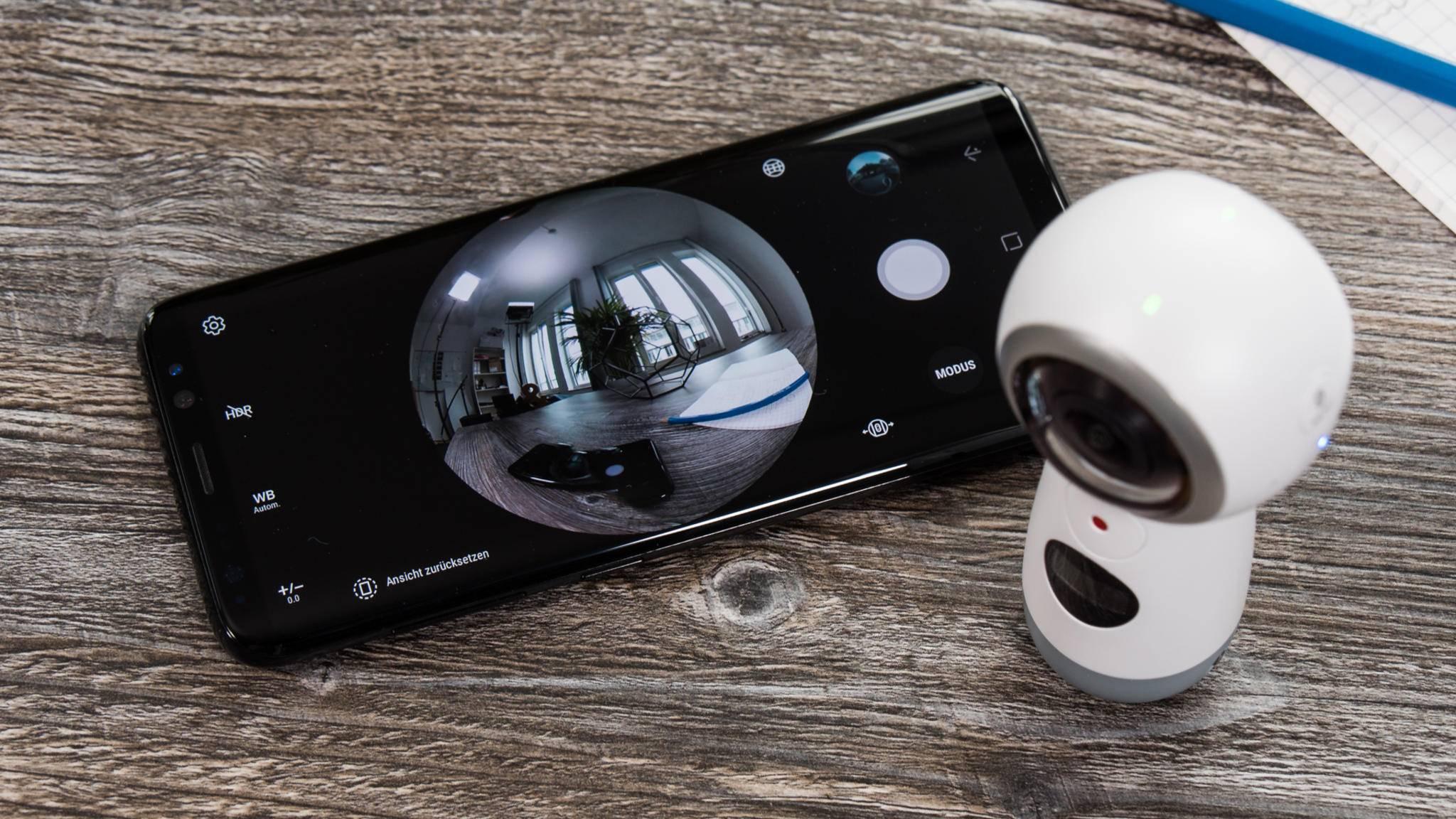 Das Galaxy S8 und die neue Gear 360.