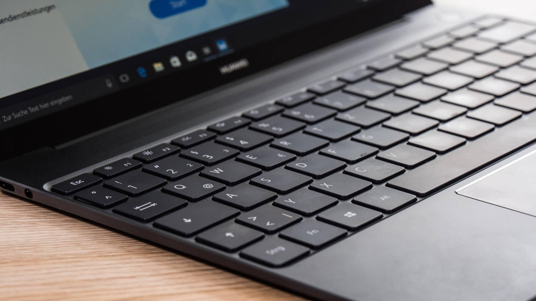 Kommt das MateBook X an Apples MacBook vorbei?