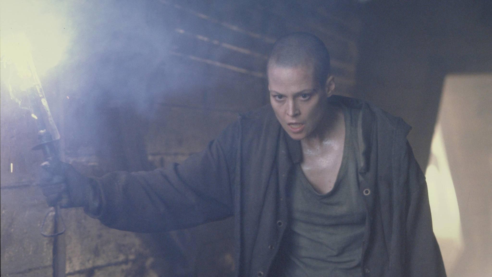 """Ellen Ripley wurde auf Sigourney Weavers Wunsch in """"Alien 3"""" getötet."""