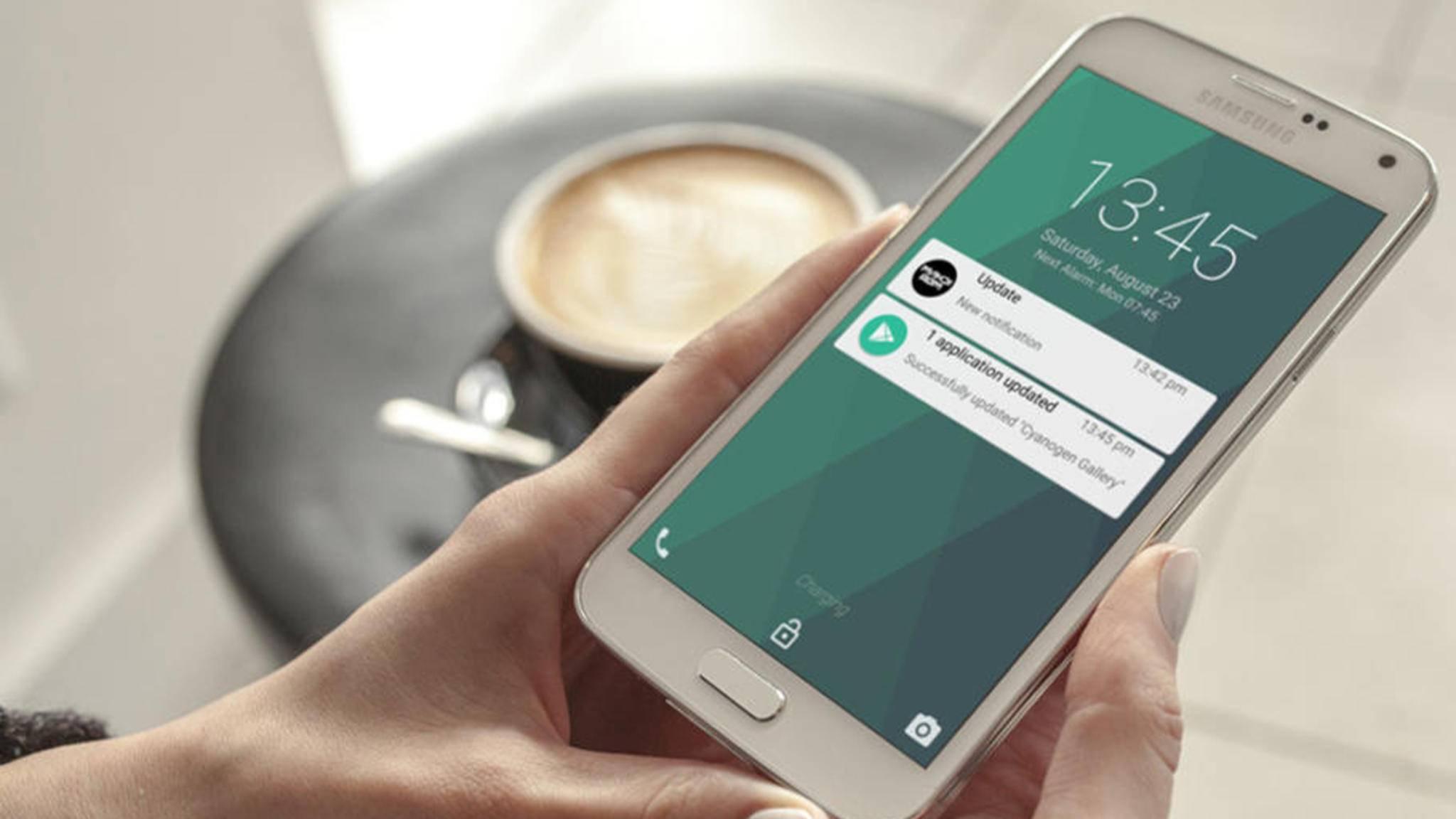 Diverse Apps personalisieren den Android-Sperrbildschirm.
