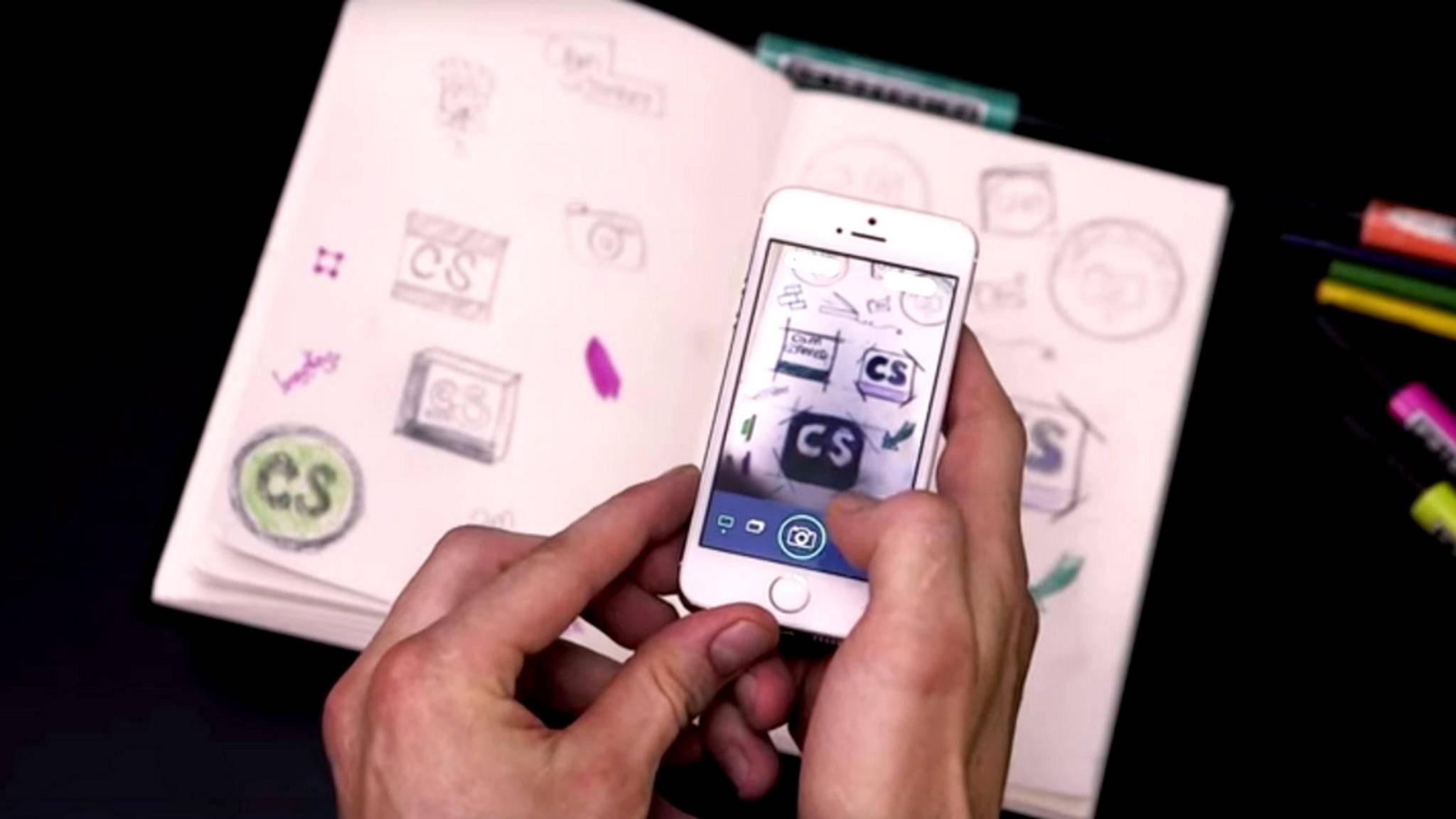 Mit Scanner-Apps wird Dein Smartphone zum mobilen Mini-Scanner.