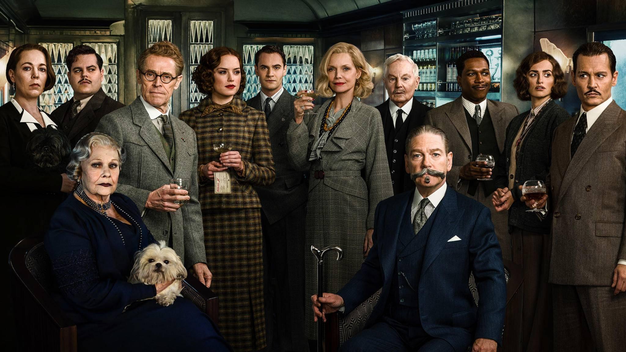 Wenn es nach Kenneth Branagh geht, sehen wir den einen oder anderen vielleicht bald in anderen Agatha-Christie-Filmen wieder.