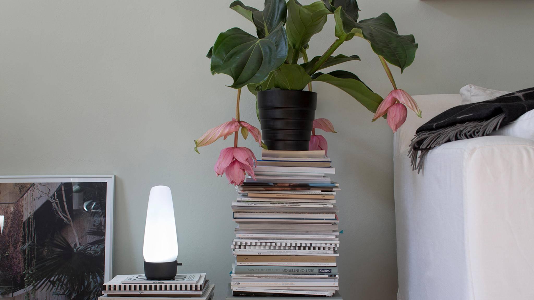 Die Lampe Covi kann viel mehr als schön leuchten.