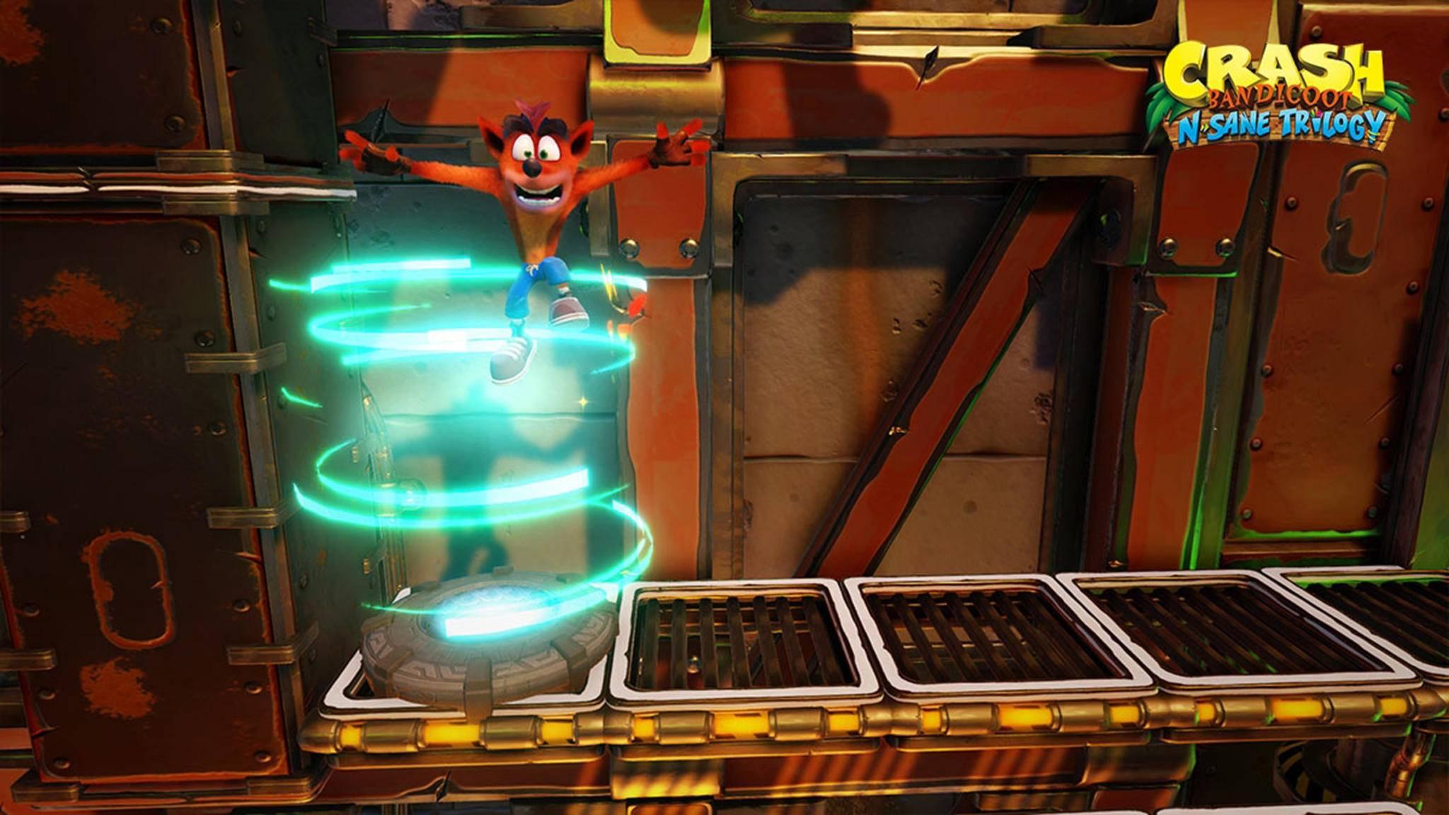 """Die Zukunft von """"Crash Bandicoot"""" könnte rosig aussehen, wenn aktuelle Gerüchte stimmen."""