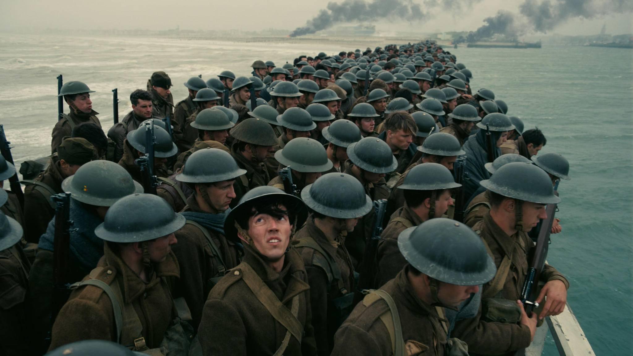 """Auch """"Dunkirk"""" widmet sich wahren Geschehnissen im Zweiten Weltkrieg."""