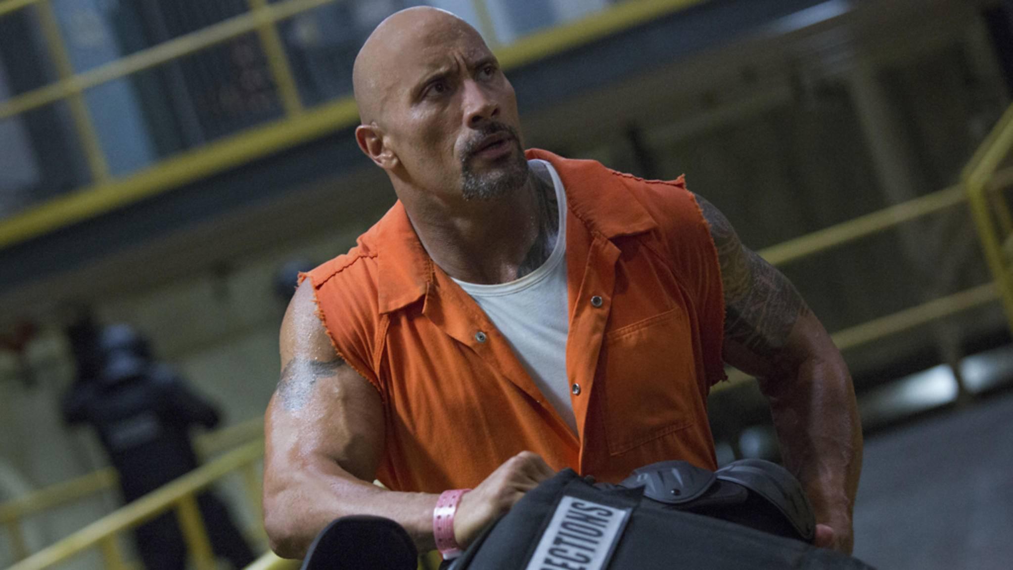 Dwayne Johnson wird bei seinen actionreichen Rollen von Cousin Tanoai Reed unterstützt.