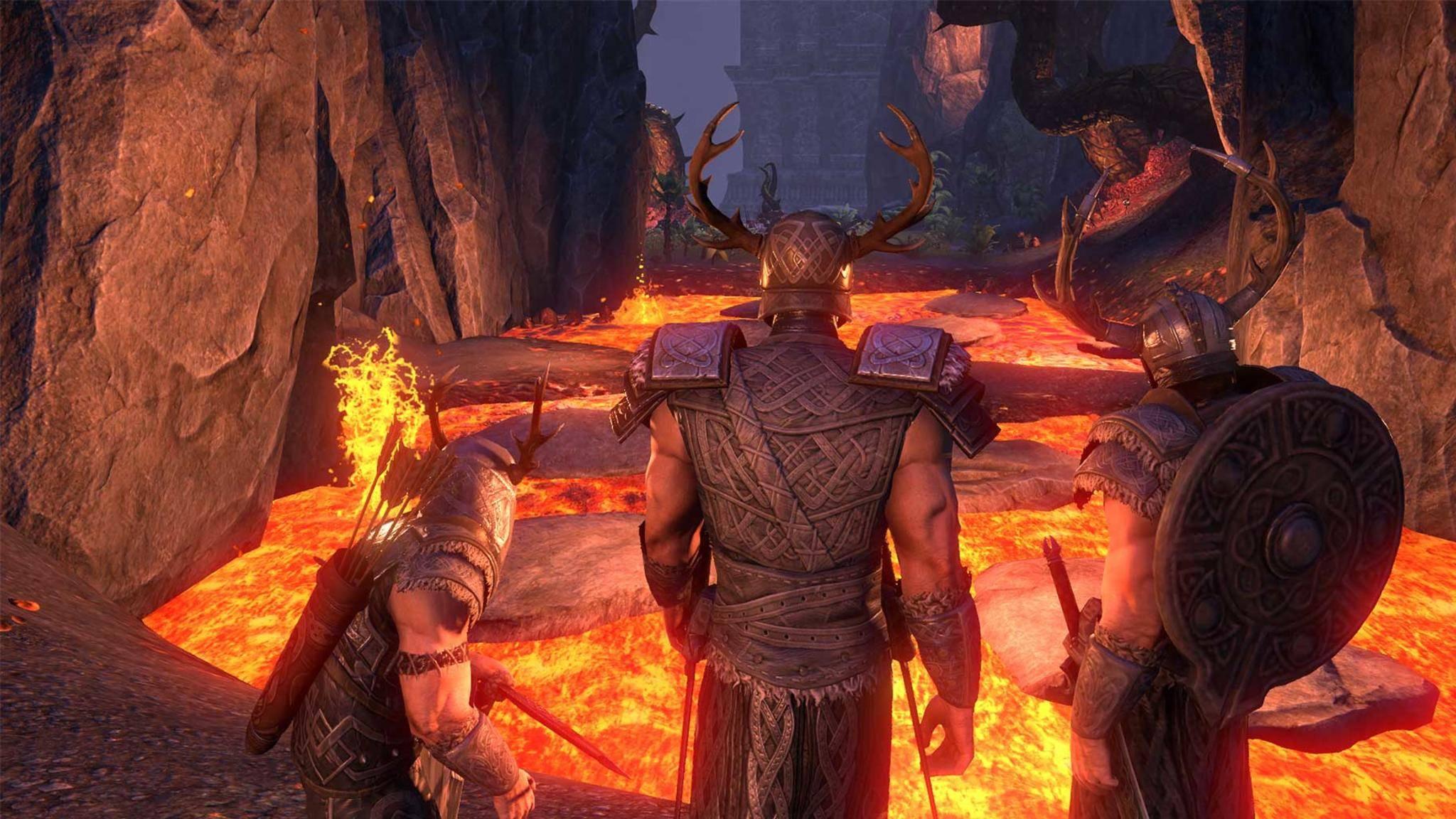 """Internet-Spiele wie """"Elder Scrolls Online"""" zockst Du bevorzugt mit dem Netzwerkkabel."""