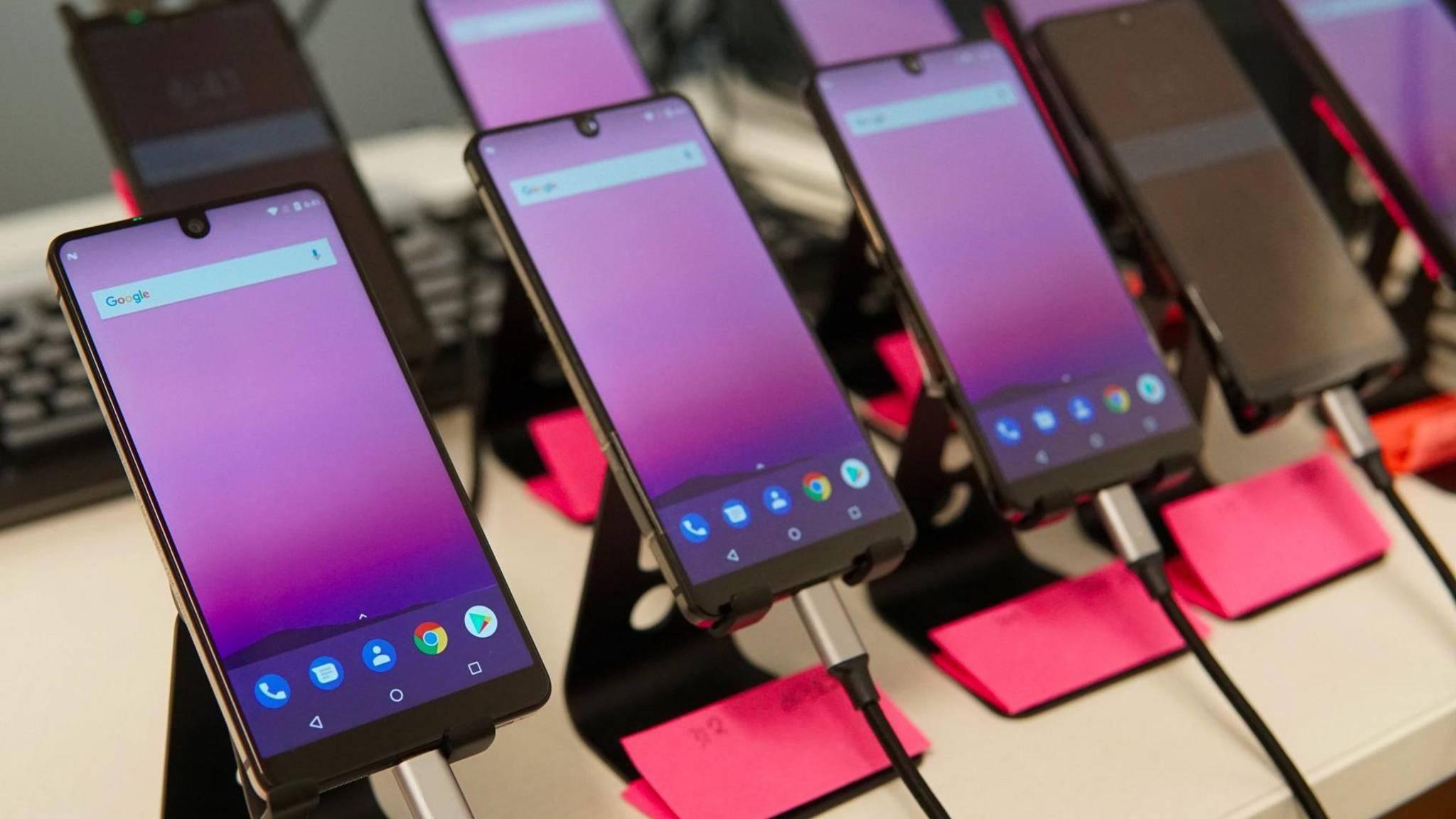 Beim Essential Phone soll es fast gar keinen Rand mehr geben.