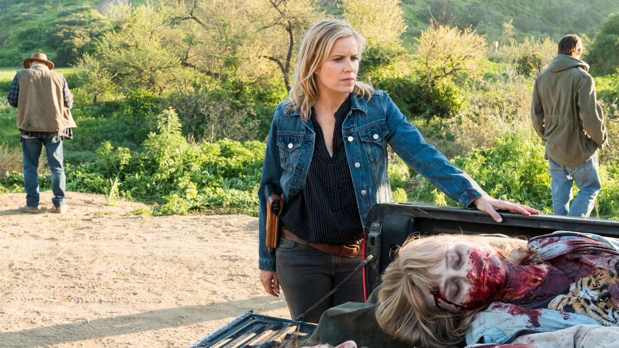 """Wie lange kann Madison die Situation in Staffel 3 von """"Fear the Walking Dead"""" wohl noch kontrollieren?"""